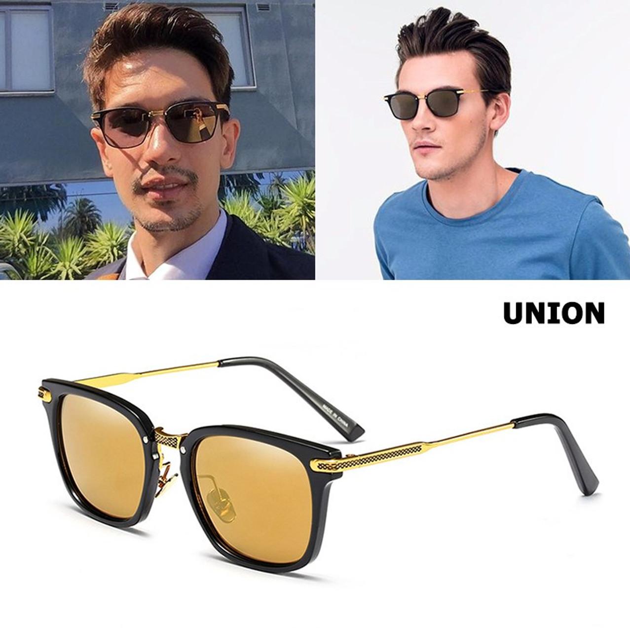 afd8d1742a6d4 JackJad 2018 Fashion Arrival The Union Sunglasses Men Women Brand Design  Square Frame Style Sun Glasses ...