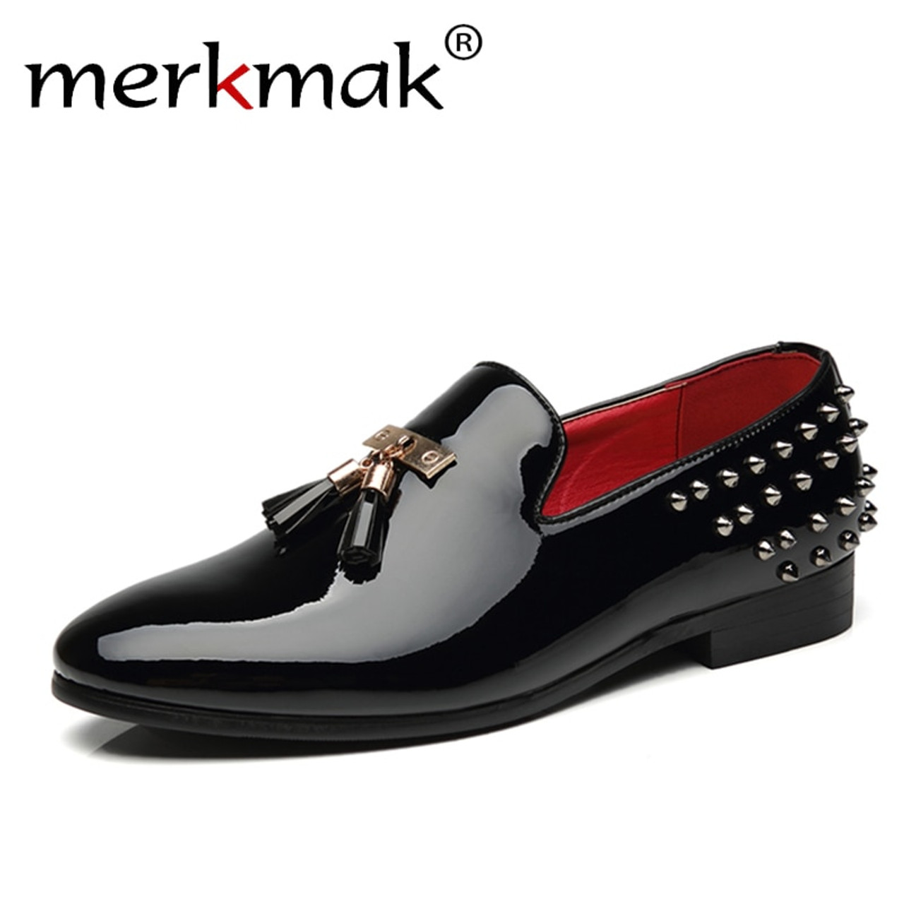 2019 New Men'S PU Leather Casual Shoes