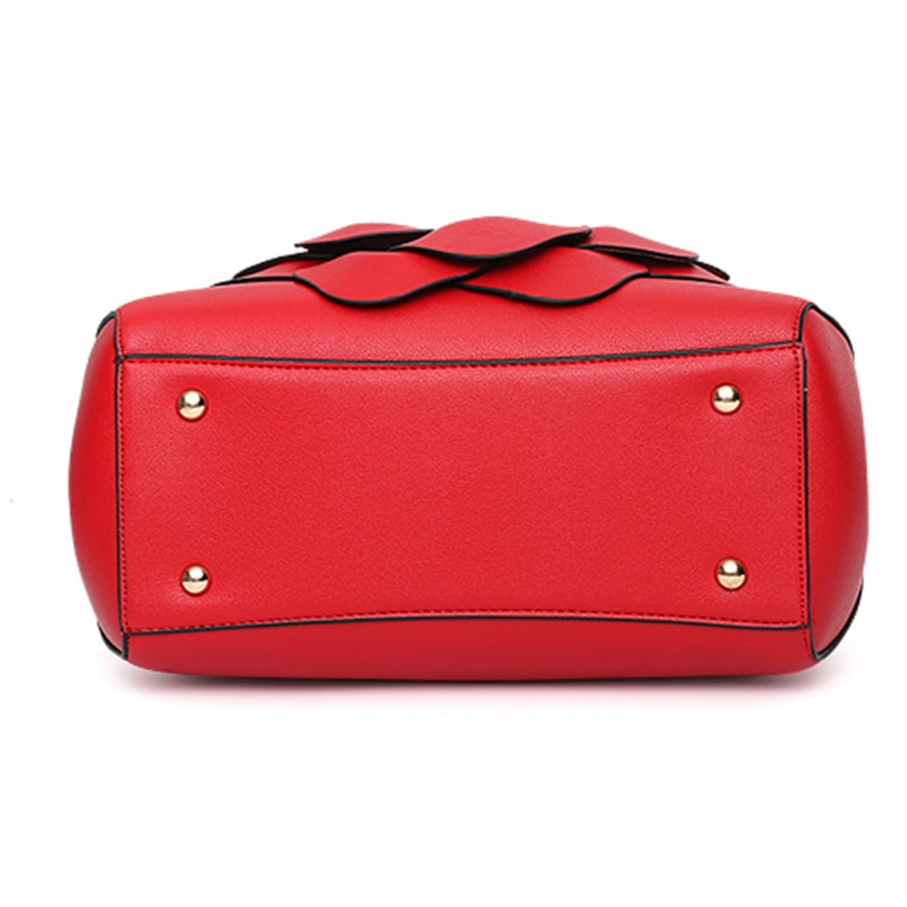 4511ffc76377 ... Nevenka Floral Handbags Women Leather Handbag Black Shoulder Bag Large  Capacity Crossbody Bag for Girls Purse ...
