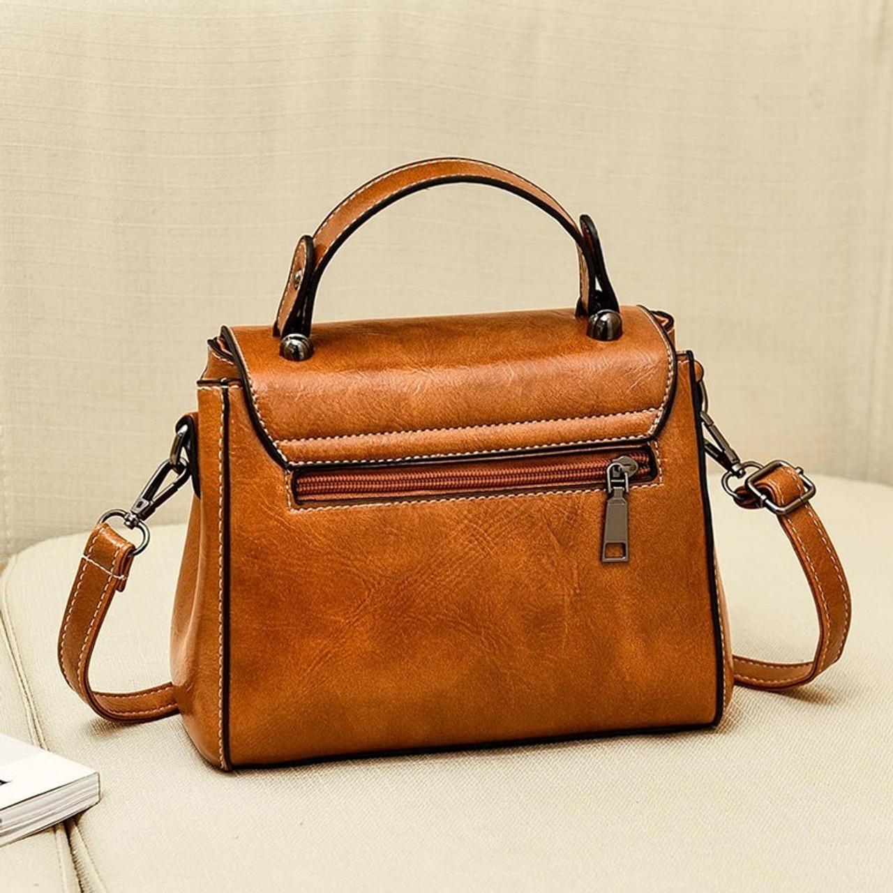 8e0035d9c5ca 2019 Spring Real Genuine Leather Handbag Handbags Woman Small Vintage  Crossbody Bags For Women Shoulder Messenger Bag Female
