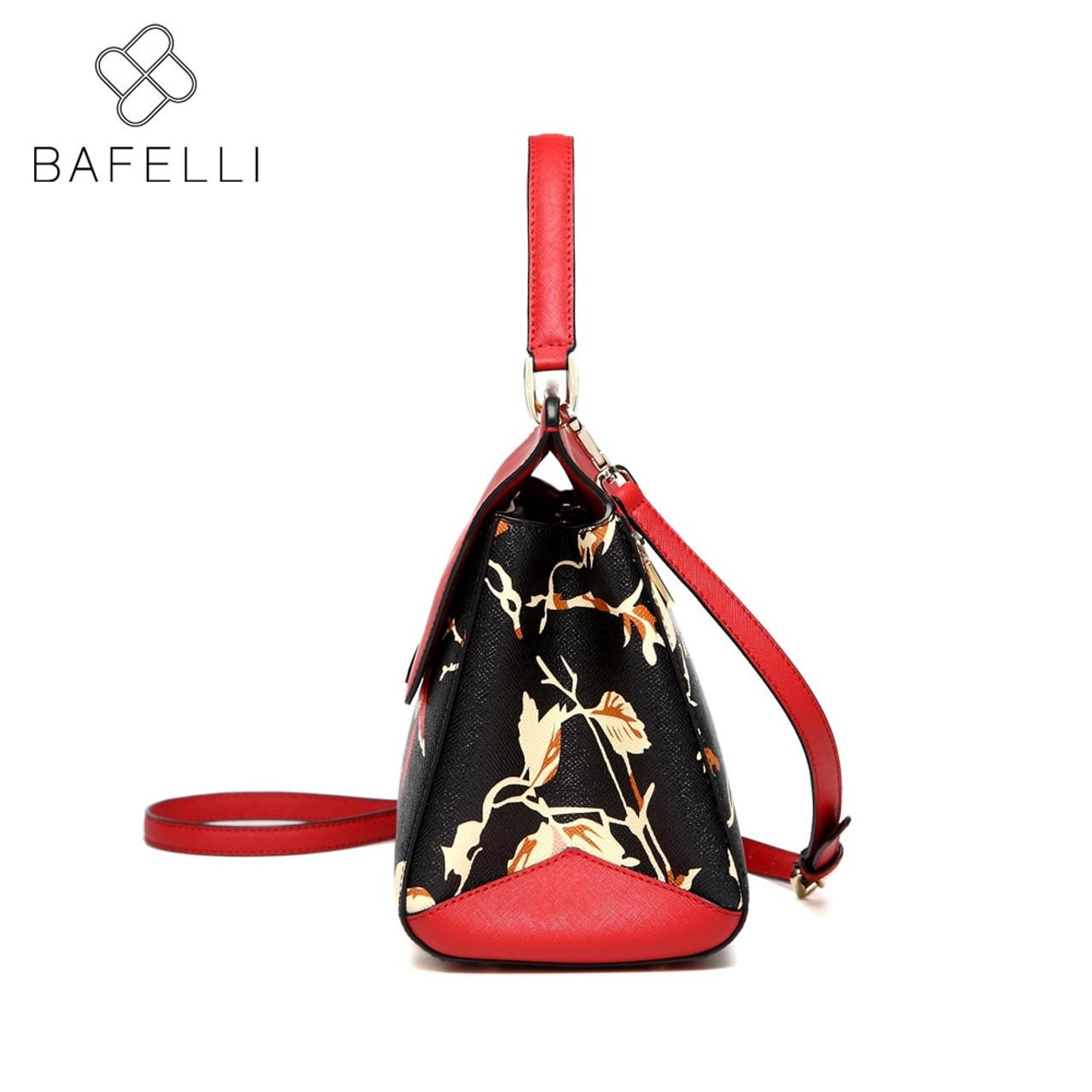 e912d02f7e ... BAFELLI split leather bags for women 2018 Large capacity luxury handbags  women bags designer shoulder Bag ...