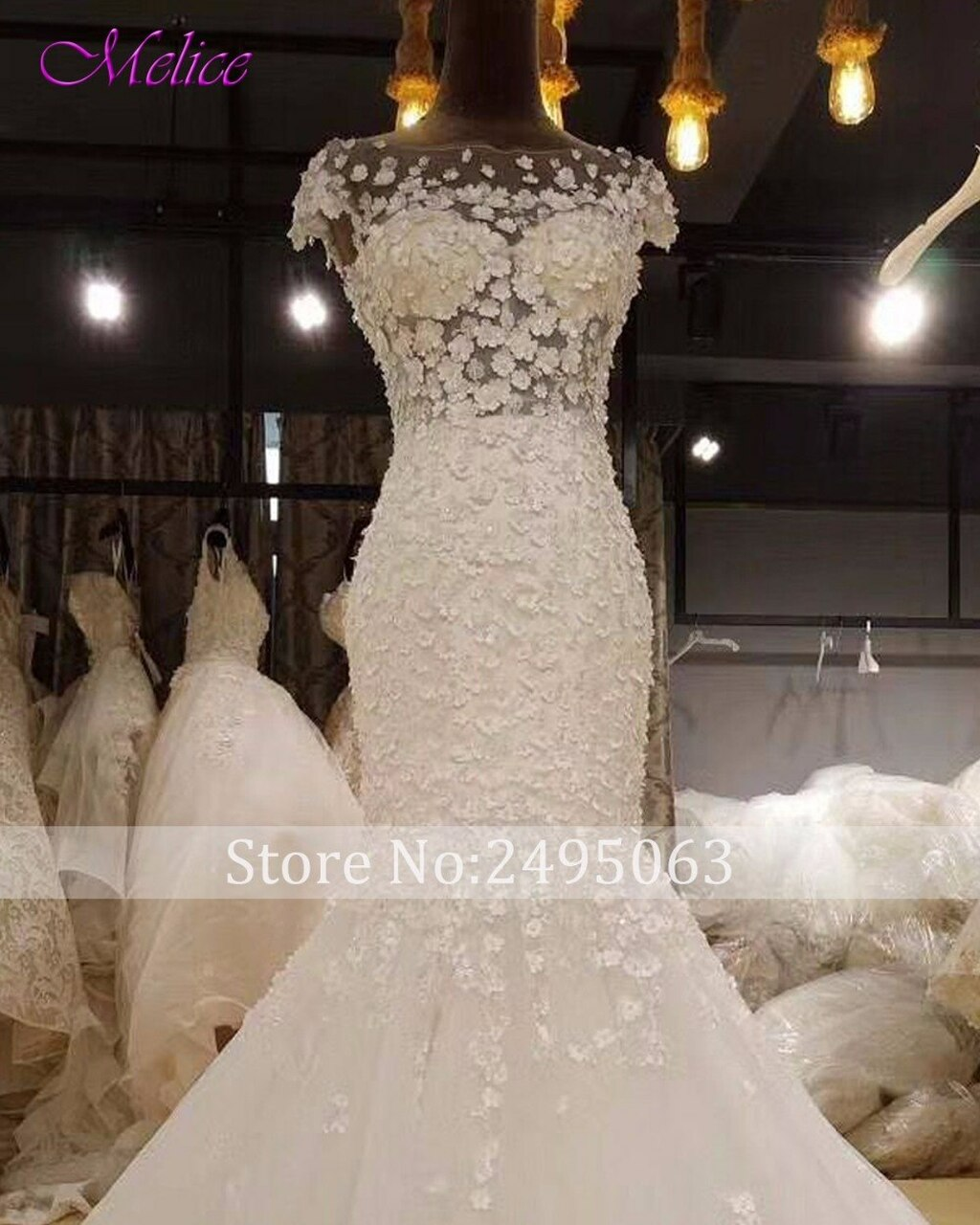 305ada4d9f Fmogl Glamorous Appliques Cap Sleeve Mermaid Wedding Dress 2019 Vintage  Scoop Neck Trumpet Bride Gown Robe De Mariage Plus Size