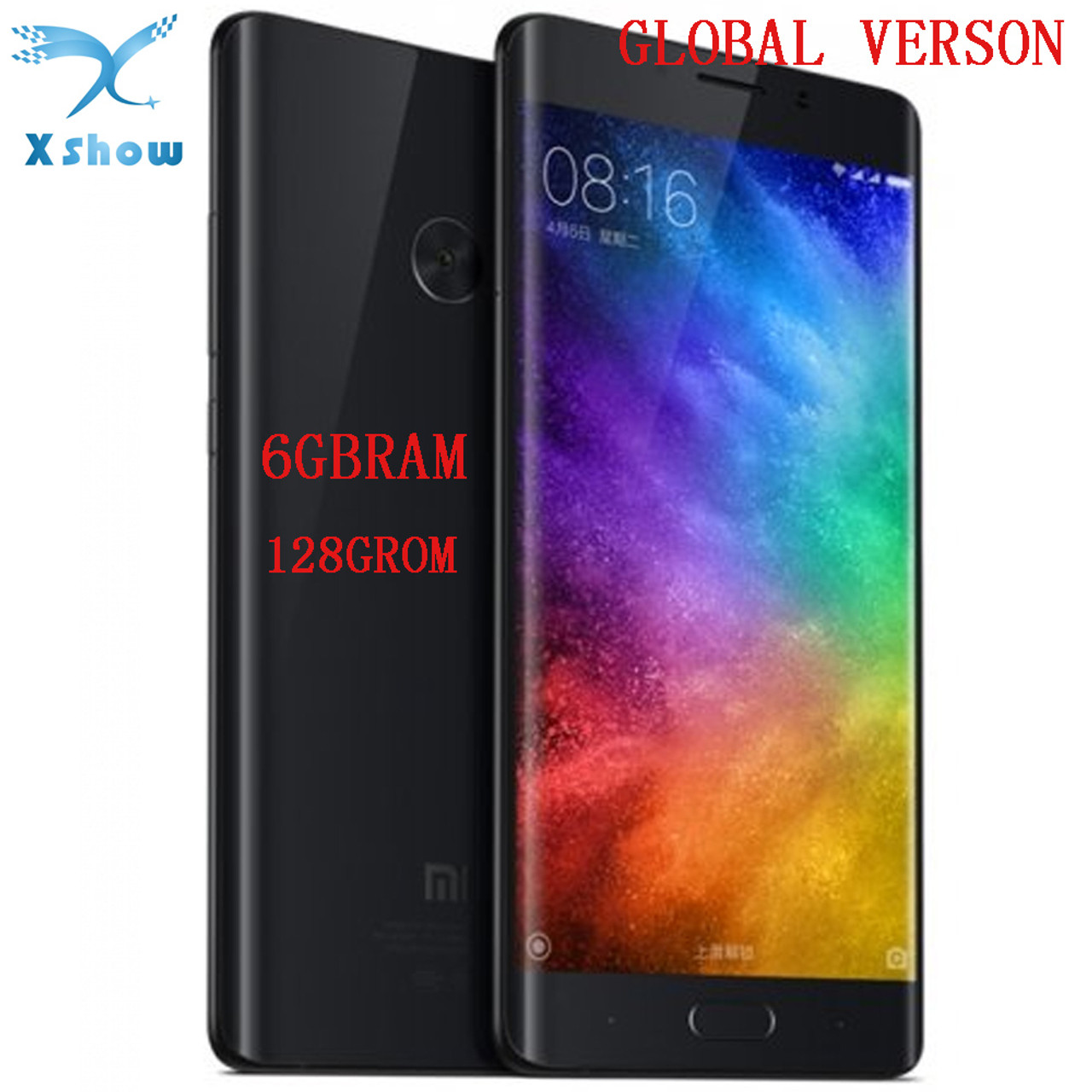 mported Xiaomi Mi Note 2 Prime 6GB RAM 128GB ROM Mobile Phone Dual 3D Glass  Snapdragon 821 5 7