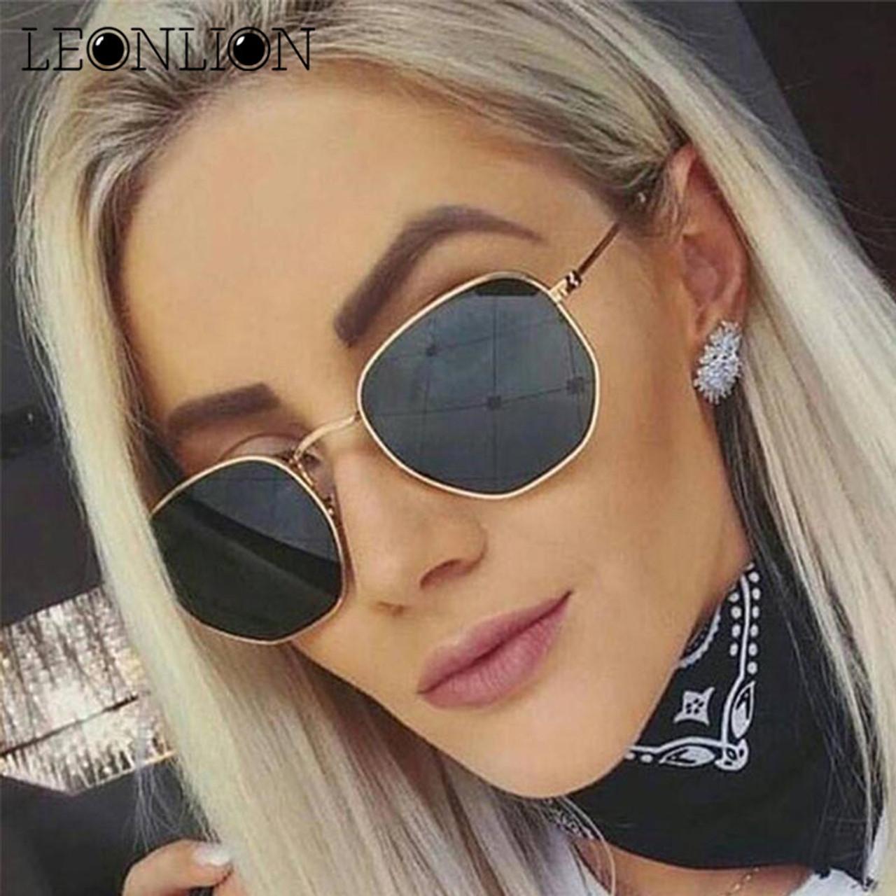 Dankeyisi Vintage Sunglasses Women Square Sunglasses Men Designer Sun Glasses Girl Retro Ladies Sunglass Uv400 Big Clearance Sale Women's Sunglasses Apparel Accessories