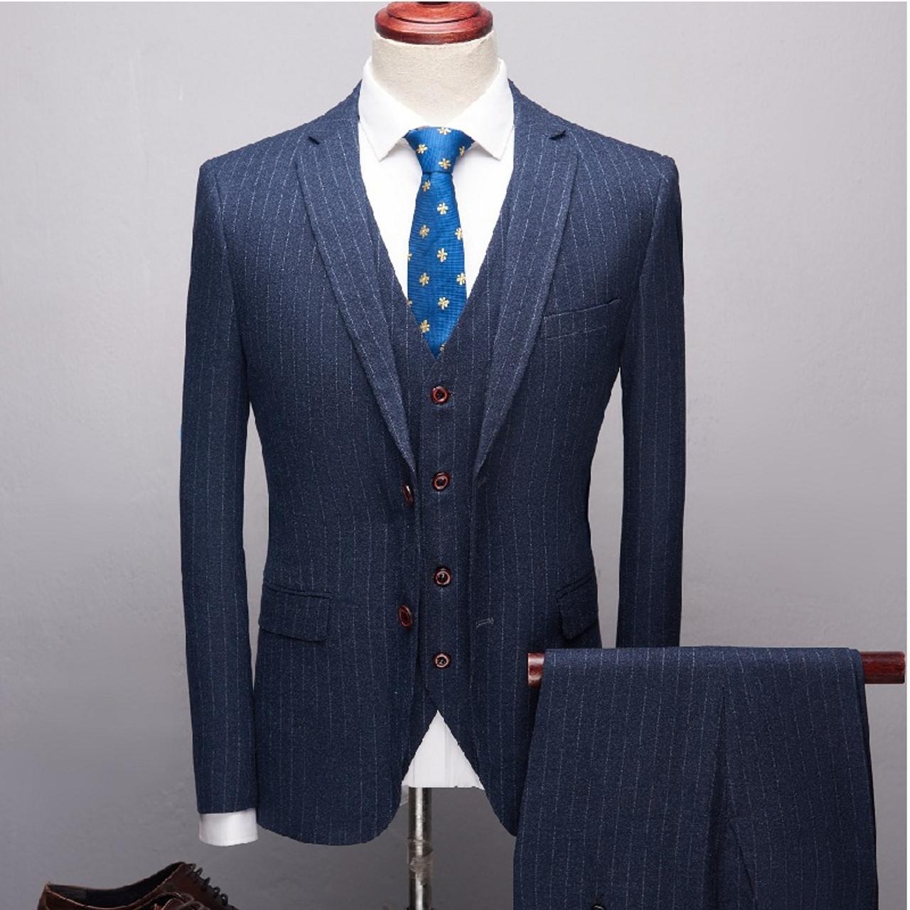 Designers 2019 Black Red Tuxedo Men S Suits Formal Grooms Wedding Prom Blazer Mens 3 Piece Korean Business Suit Slim Fit Onshopdeals Com