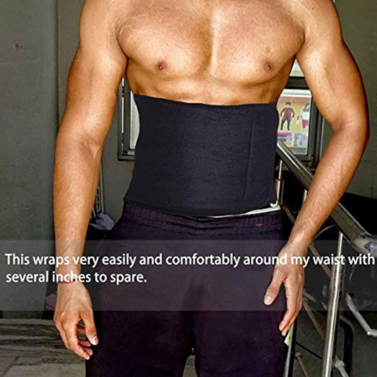 dd85aa919c ... LOOZYKIT 6XL Men Waist Trainer Hot Shaper Cincher Corset Male Body  Neoprene Slimming Waist Trimmer Belt ...