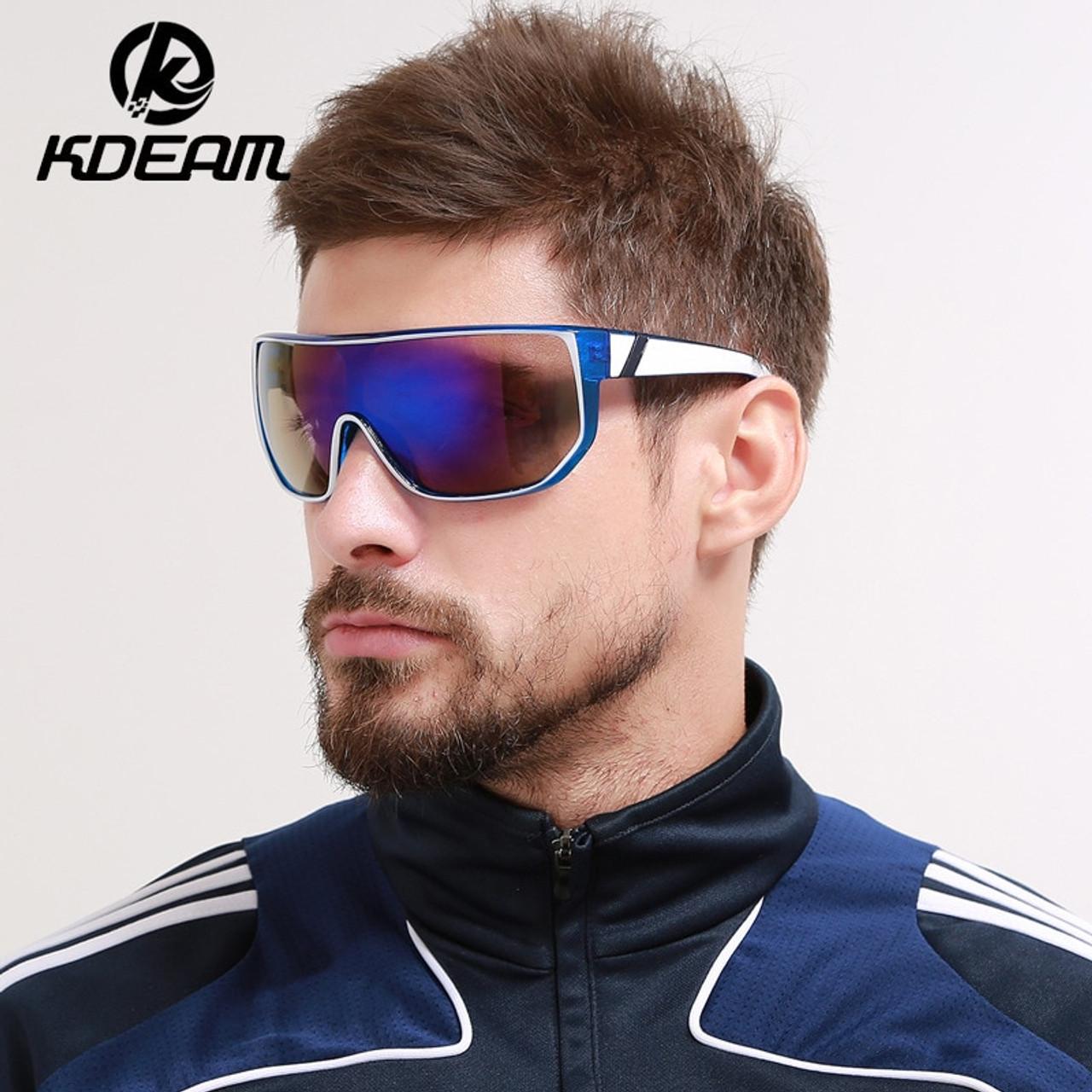 7405accd5c KDEAM DESIGN Polarized Sunglasses Men Women Driving Square Frame Big Sun  Glasses Male Goggle UV400 Gafas ...
