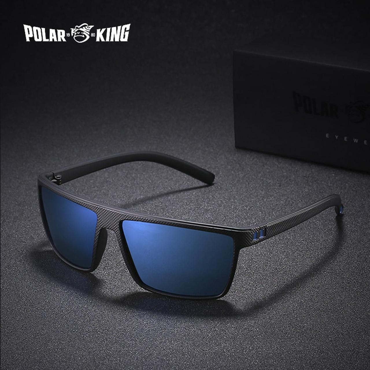 8c3cd35fbfc02 POLARKING Brand Retro Polarized Sunglasses For Men Oculos de sol Men s  Fashion Square Driving Eyewear Traveling ...