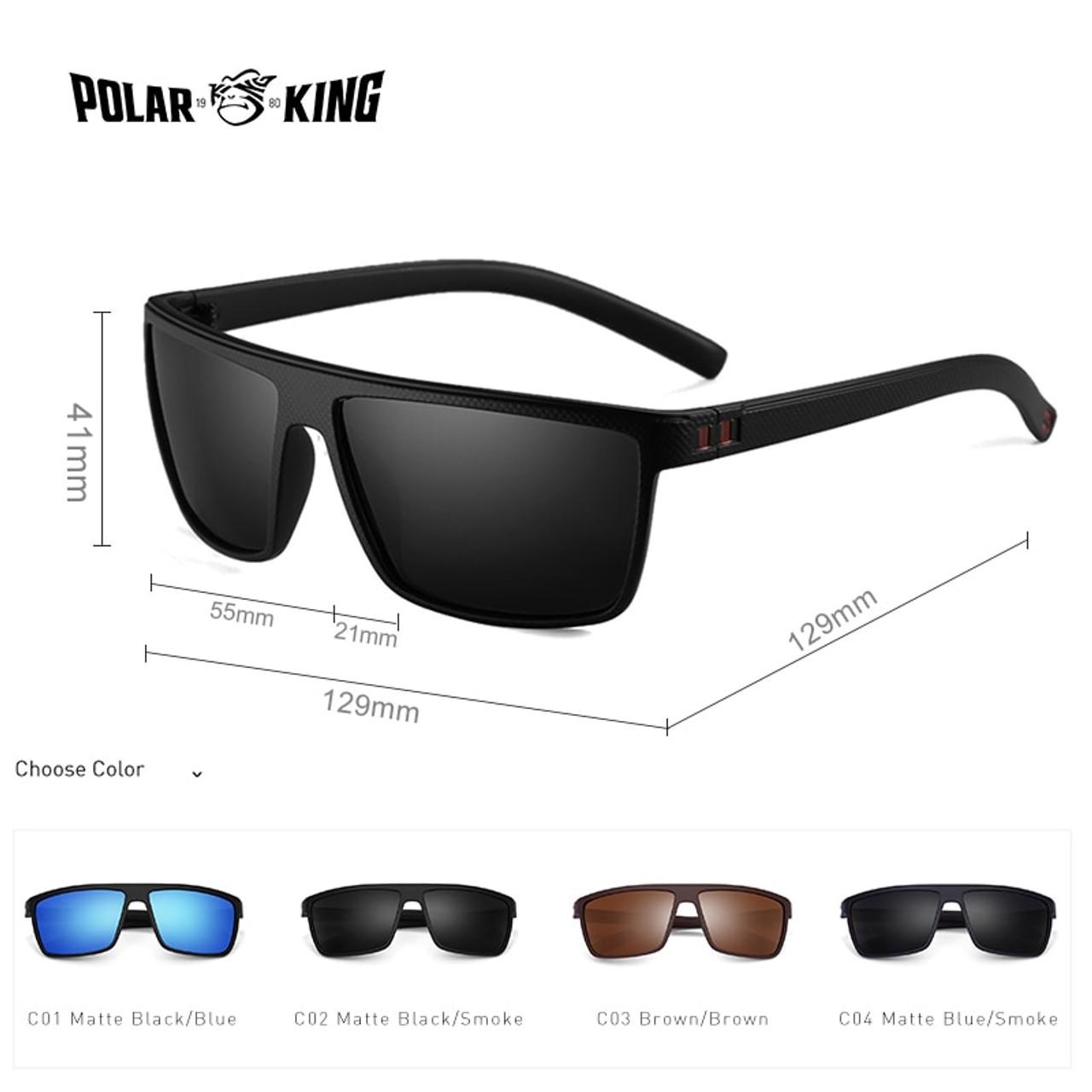 524e240f12376 ... POLARKING Brand Retro Polarized Sunglasses For Men Oculos de sol Men s  Fashion Square Driving Eyewear Traveling ...