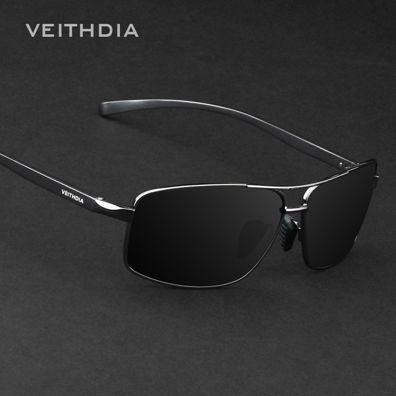 Sunglasses Driving Men's Sun For Eyewear Best Polarized Accessories Lens Glasses 2458 Veithdia Men Alloy Brand deCBorx