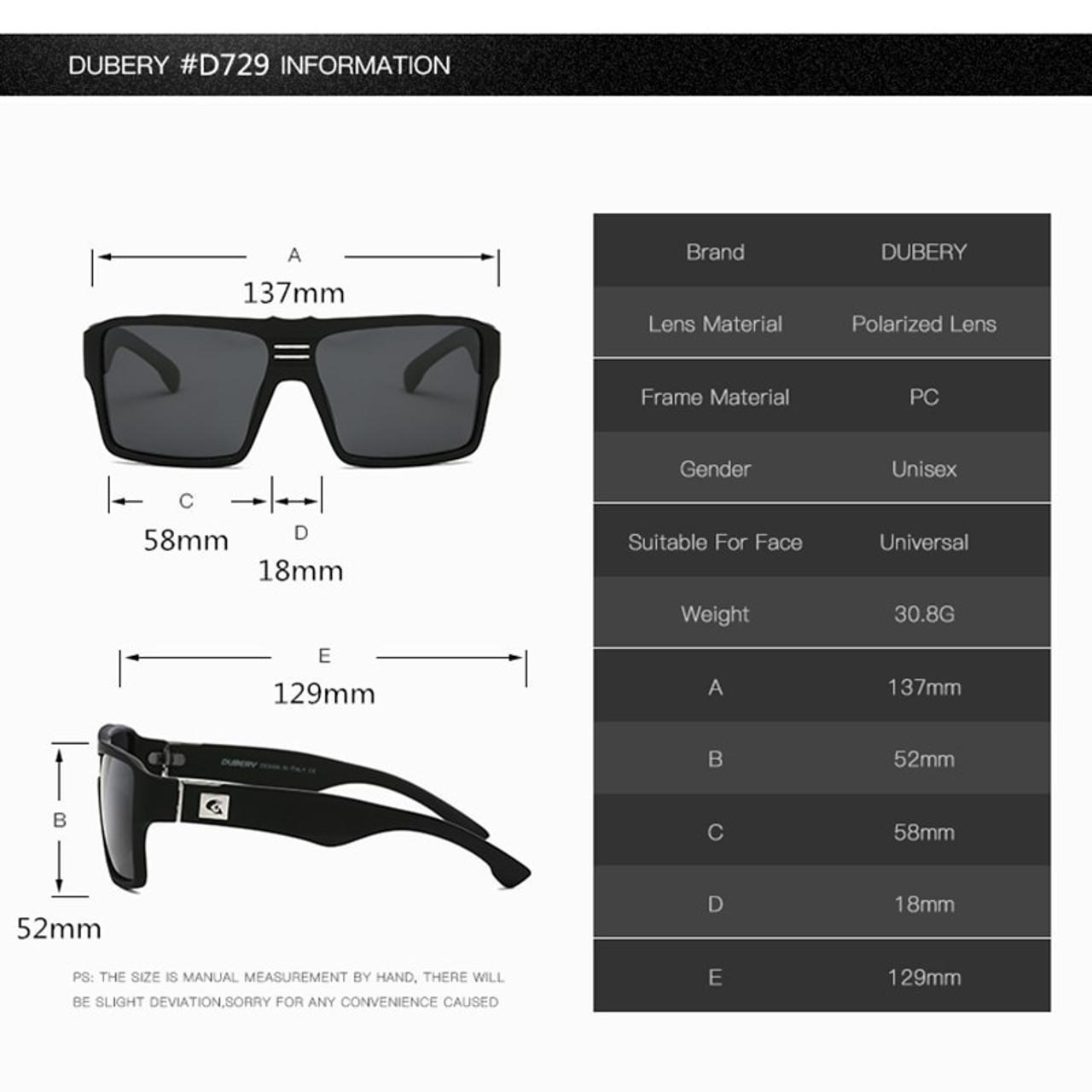 Men Polarized Sports Sunglasses Ourdoor Driving Riding Square Fashion Glasses