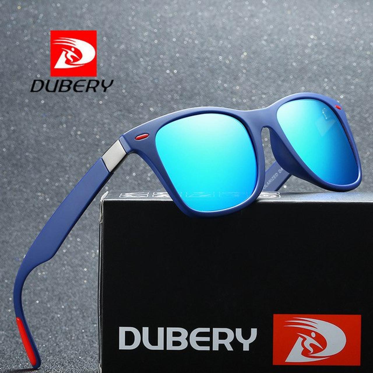 bb364ea2ec DUBERY Vintage Sunglasses Polarized Men s Sun Glasses For Men Square Shades  Driving Black Oculos Male 8 ...