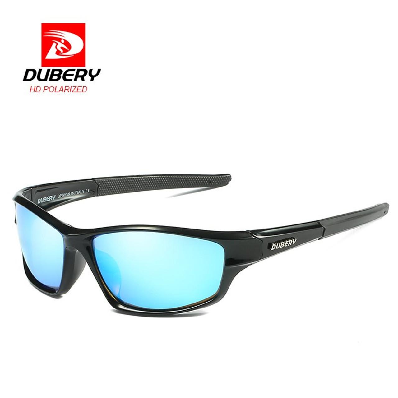 1947f25effe1e ... DUBERY Sunglasses Men s Polarized Driving Sport Sun Glasses For Men  Women Square Color Mirror Luxury Brand ...