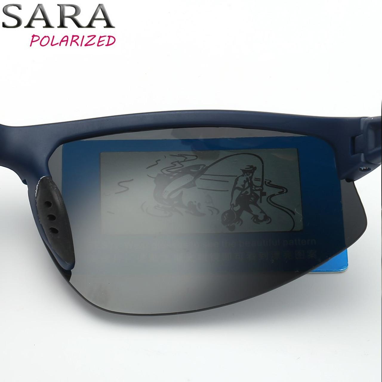 0044993af3321 ... SARA Male Sun Glasses Fashion Sports Polarized Sunglasses For Men Women  UV400 Driving Fishing Shades Lenses ...