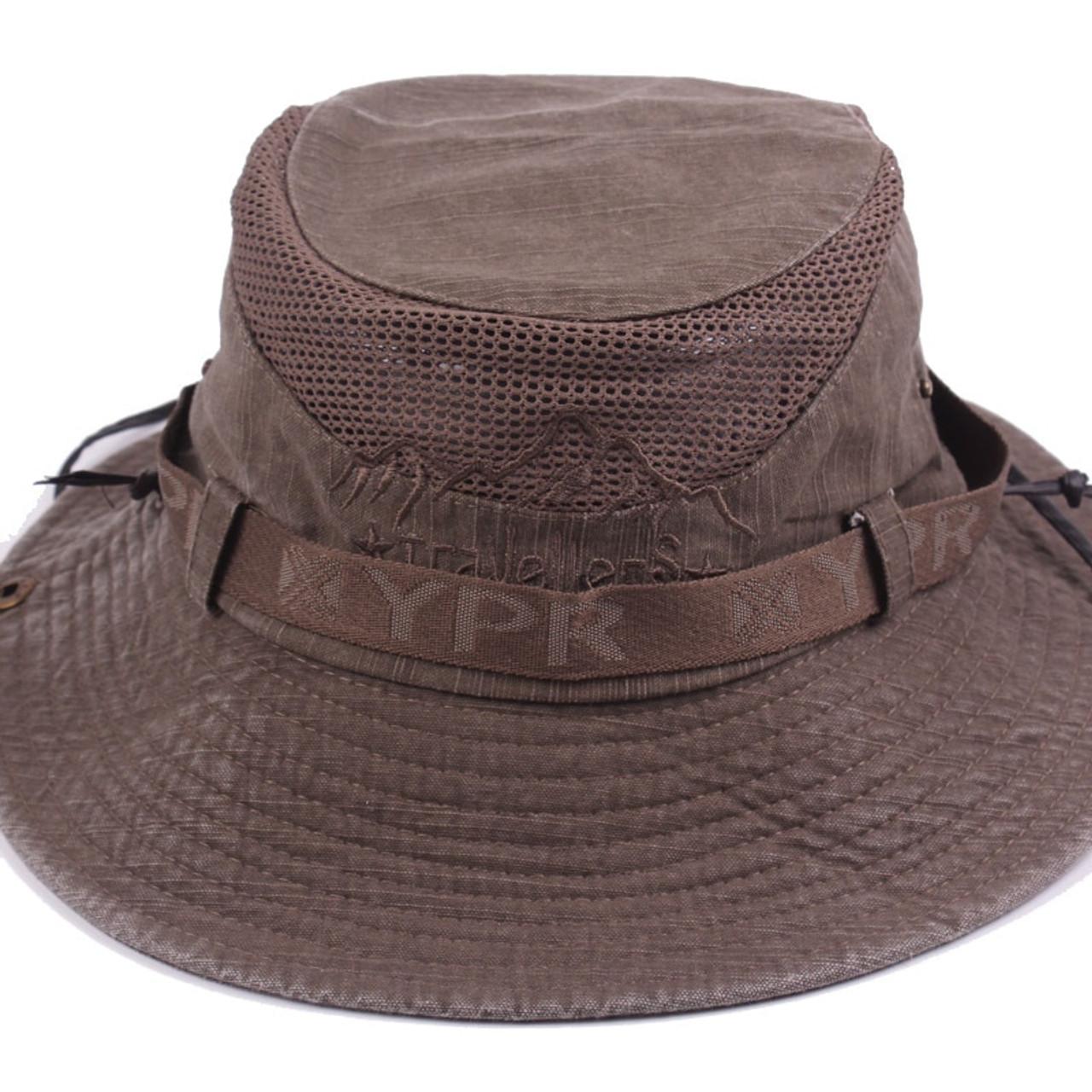 c015977d31b ... GEERSIDAN New Cotton Summer Spring men s Bucket Hats big Wide Brim  fishing hats for men women ...
