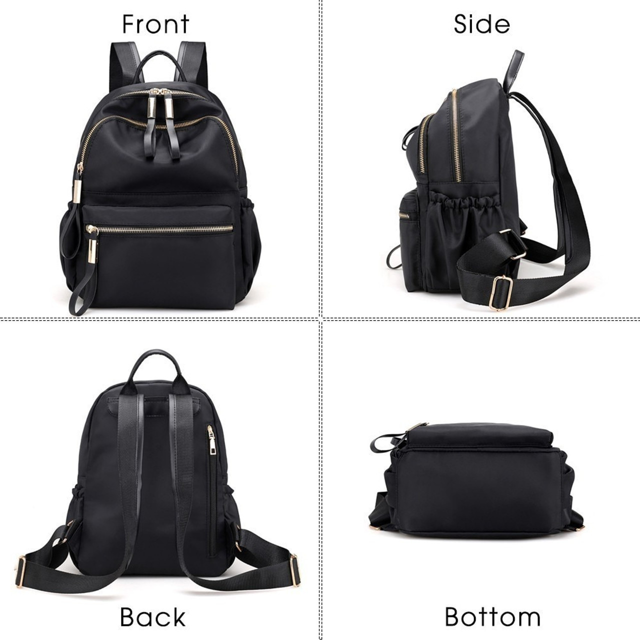 cbcf239b2bbf Herald Fashion Backpack Women Leisure Back Pack Korean Ladies Knapsack  Casual Travel Bags for School Teenage Girls Bagpack
