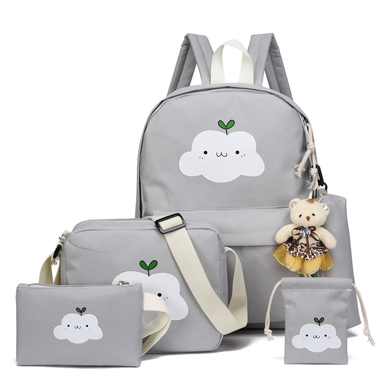 c07b31ff0 2018 New Fashion Nylon Backpack Schoolbags School For Girl Teenagers Casual  Children Travel Bags Rucksack Cute ...
