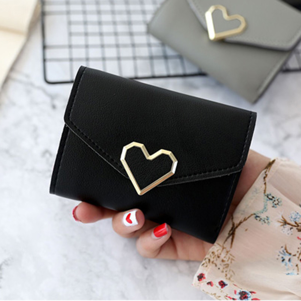 Women Wallet Small Brand Purse Women Leather Ladies Hand Bag Women Wallets Money Clip For Girls Slim Wallet Clutch Mini Bags Onshopdeals Com