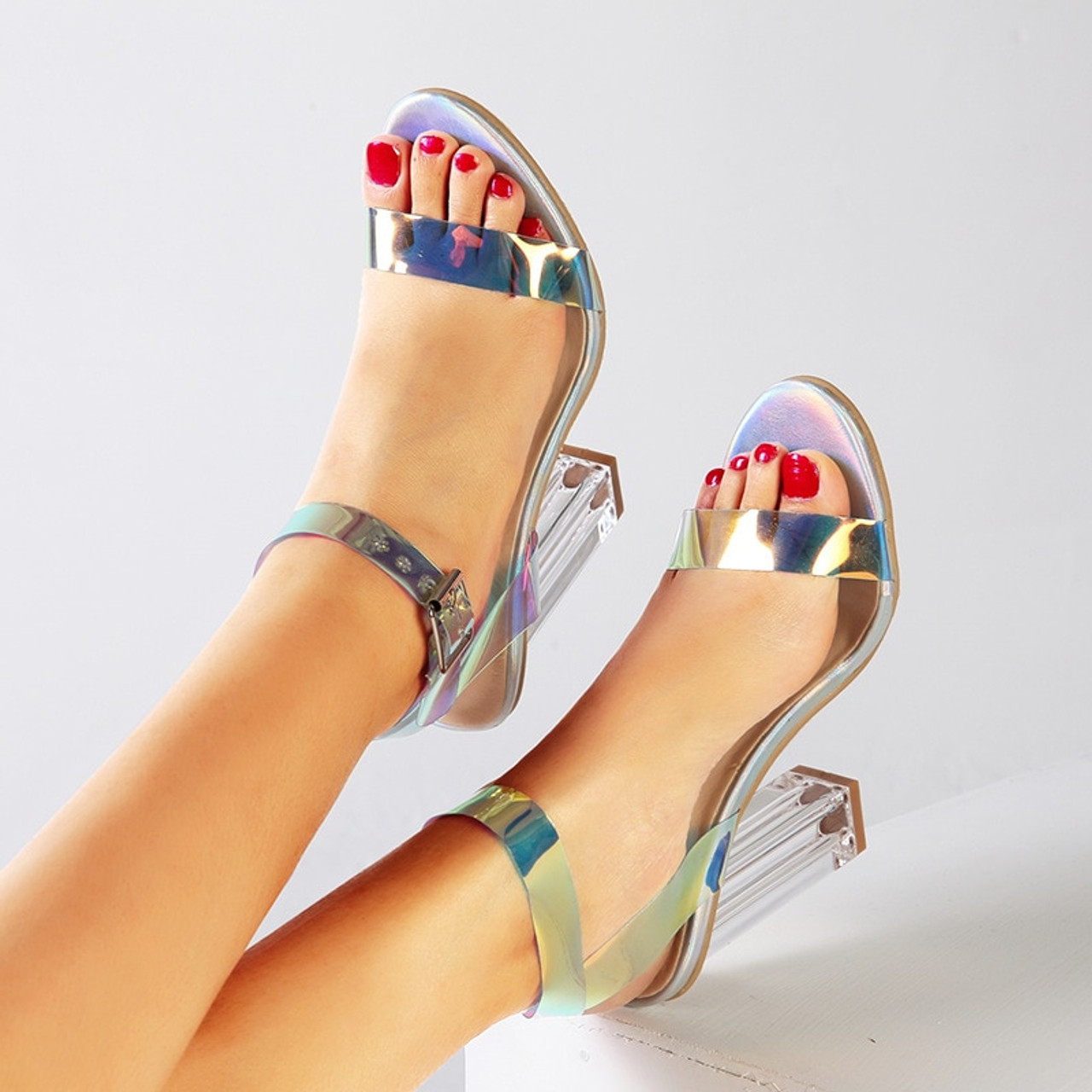 Shoes Sanda Avec Des Elegant High Femmes nOP0k8w