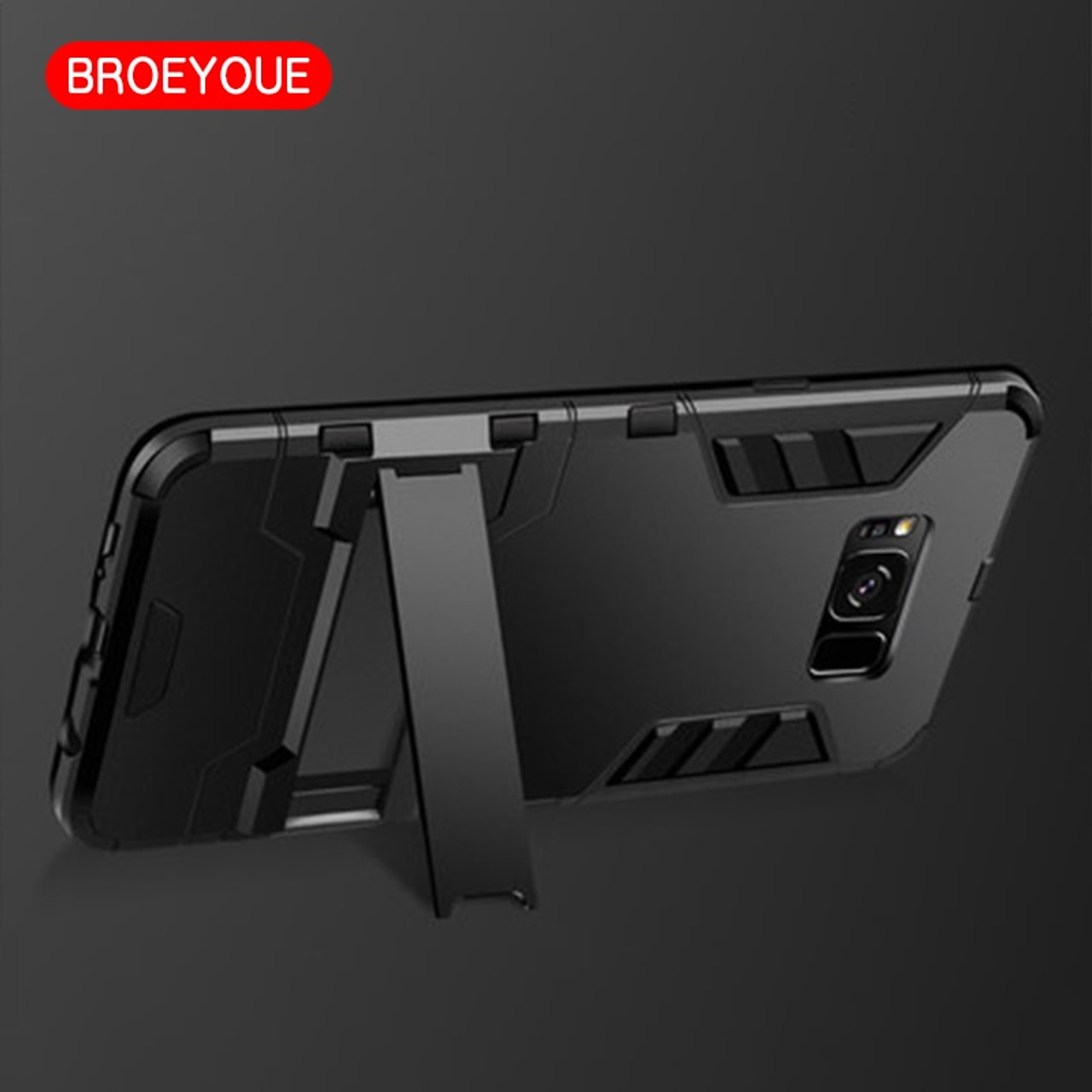 Armor Case For Samsung Galaxy S7 S8 Edge S9 S10 Plus Note 4 5 8 9 Case For  Samsung J3 J4 J5 J6 J7 A3 A5 A7 A8 A9 Plus 2017 2018