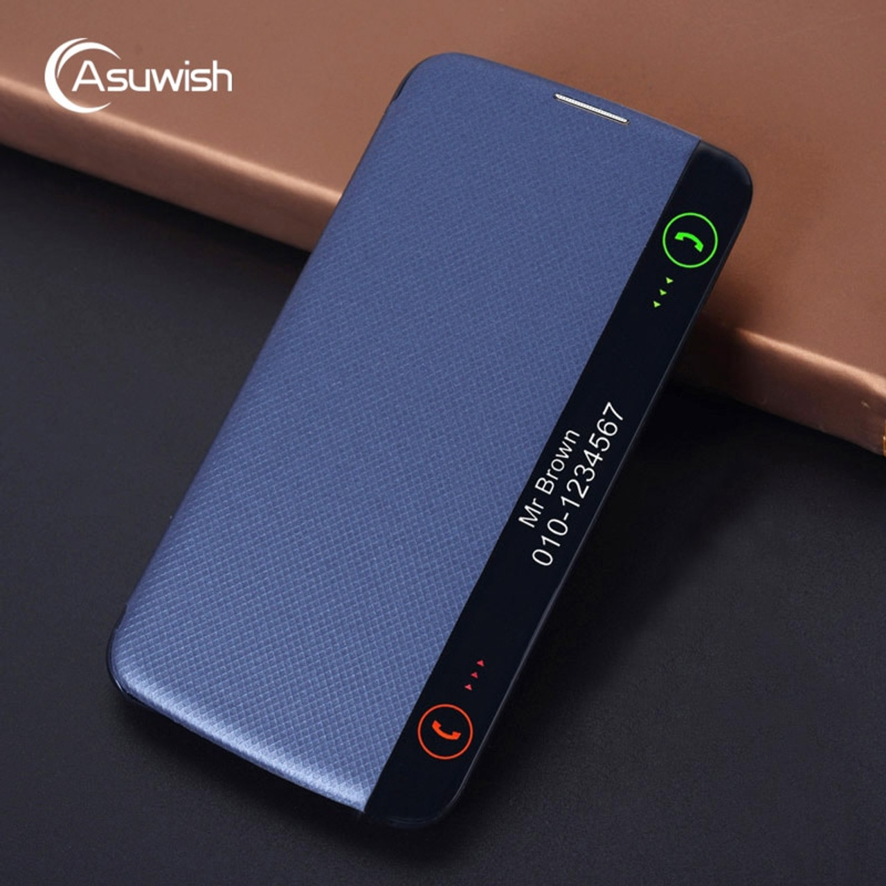 the latest 935e0 f01cb Asuwish Flip Cover Leather Case For LG K10 LTE 2016 K 10 LGK10 K102016  K10LTE K420N K430 K430DS F670 Original Smart Phone Cases