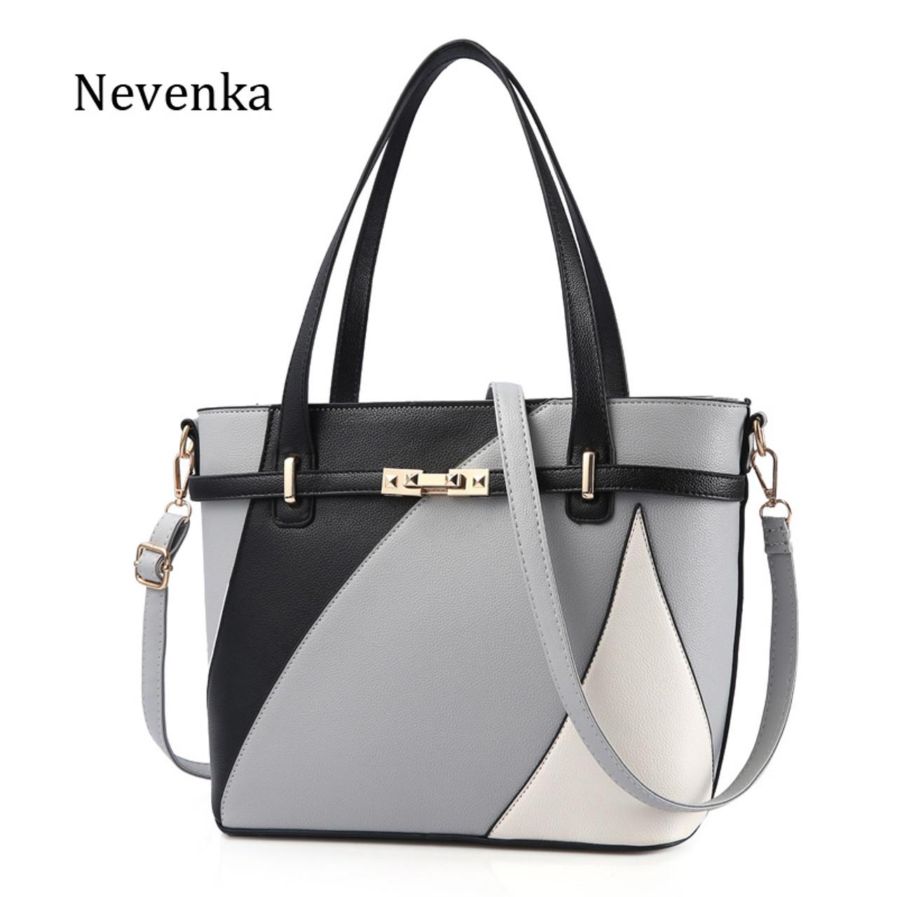 848afd45b431 Nevenka New Design Women Fashion Style Handbag Female Luxury Chains Bags  Sequined Zipper Messenger Bag Quality ...