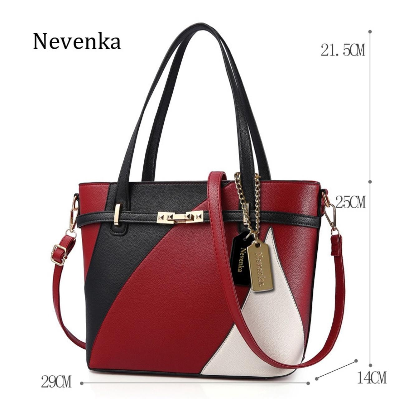 9a2e45cc6eebc ... Nevenka New Design Women Fashion Style Handbag Female Luxury Chains Bags  Sequined Zipper Messenger Bag Quality ...