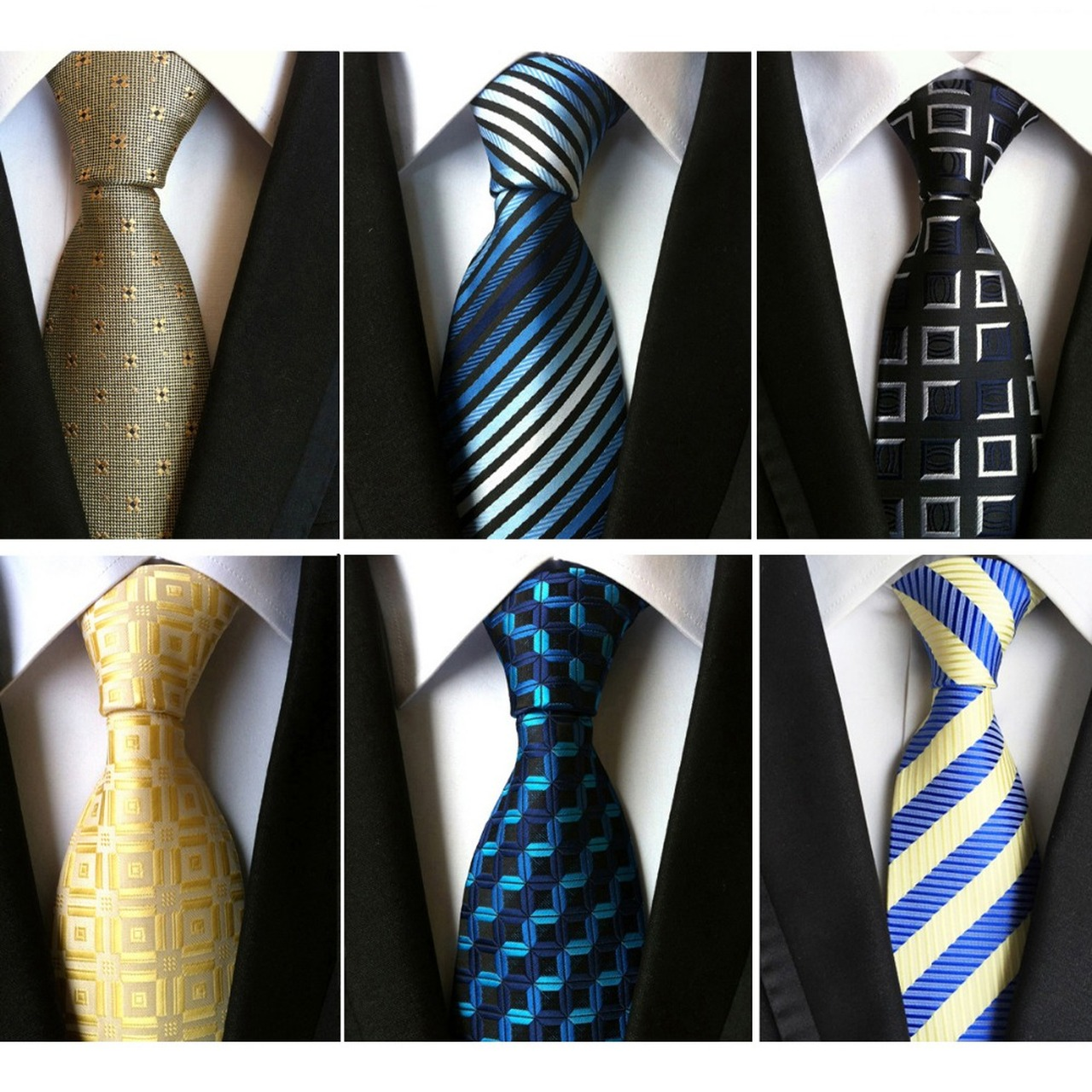 Men/'s Striped Skinny Knitted Tie Wedding Business Party Gentleman Casual Necktie