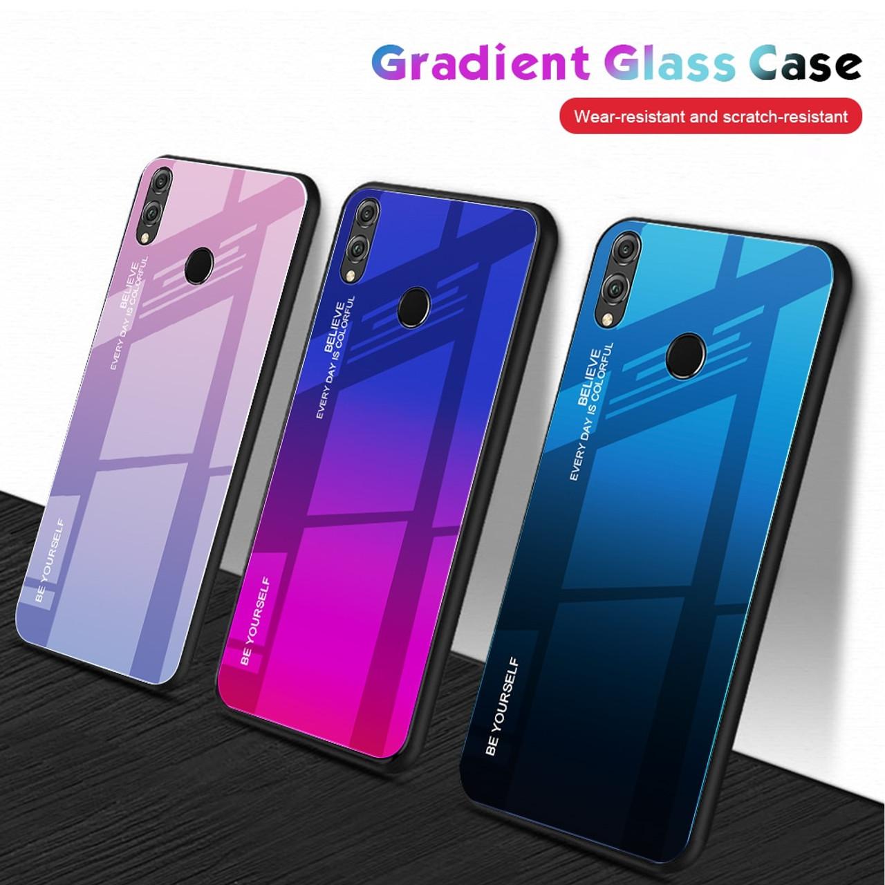 Folkekære Gradient Phone Case For Huawei Y6 Prime 2019 P30 P20 Lite Pro FM-27