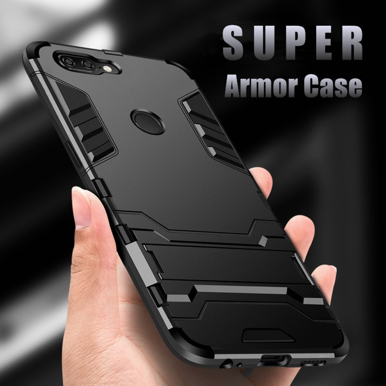 the latest 4427f 80496 Armor Case For Oneplus 5 Luxury Shockproof Hybrid TPU Silicone Hard PC Back  Cover For Oneplus 5T Oneplus 3T 6 T Case Phone Shell