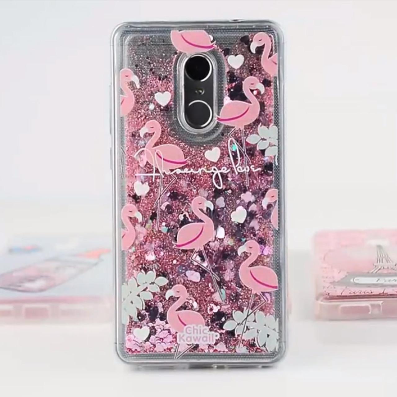 b8915b4ca0 Glitter Silicone Phone Case For Xiaomi Redmi 7 4X 5 Plus 6A 6 Pro Liquid  Quicksand Cover on Redmi Note 5 6 7 Pro 4X Cases Coque