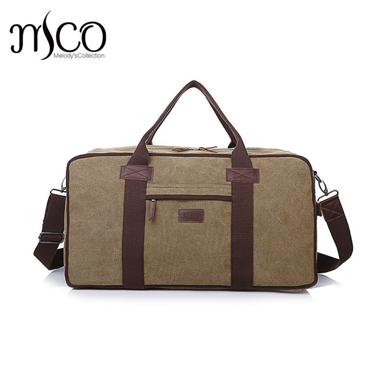 1760c1869 Canvas Leather Men Travel Bags Carry on Luggage Bags Men Duffel Bags Travel  Tote Large Capacity ...