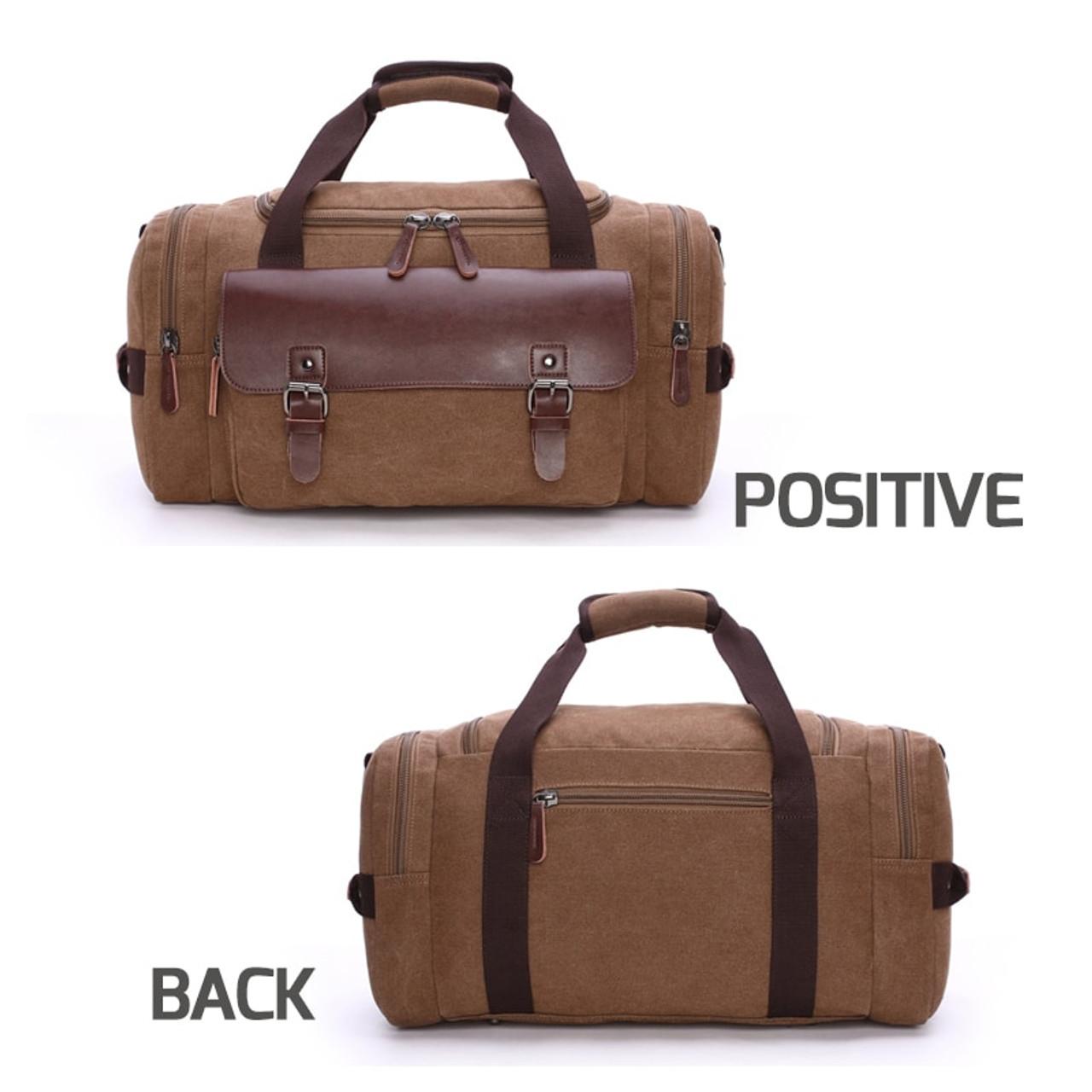 6e11ea460526 Scione Men Large Capacity Canvas Crossbody Travel Bags Practical Weekend  Luggage Duffel Bag Women High Quality Shoulder Handbag