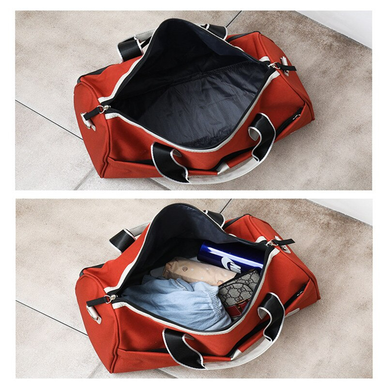 fd2a0a338 ... Women Travel Bag Men Large Capacity Canvas Carry on Duffle Bag Hand  Luggage bag Weekend Suitcase ...