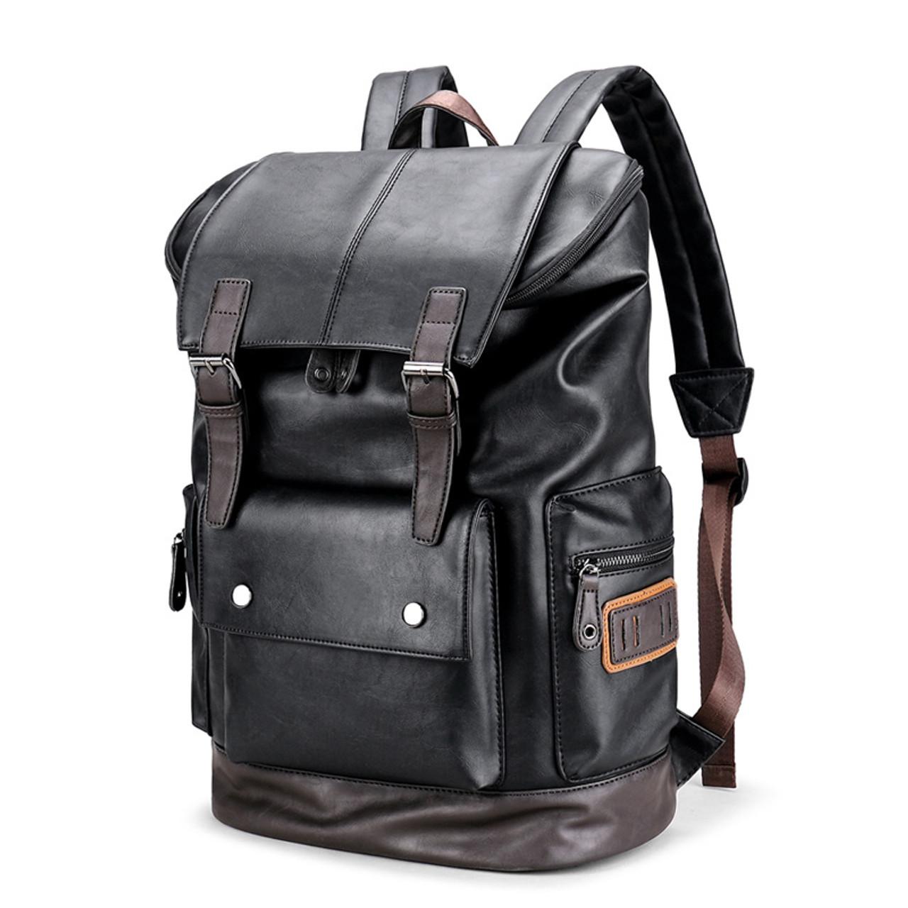 d846929e577d ... mochila notebook schoolbag mens anti theft backpack bag back pack  laptop rucksack leather backpacks for school ...