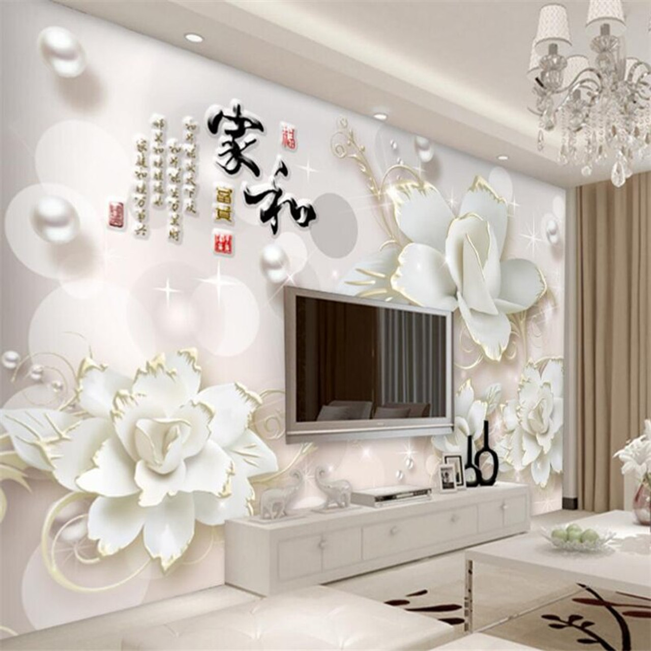 WoowPaper 3d Wallpaper White