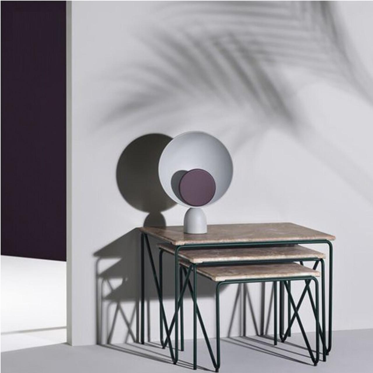 Modern Iron Dressing Led Table Lamps Bedroom Bedside Lights Study Reading Lighting Nordic Home Deco Desk Lamps Onshopdeals Com