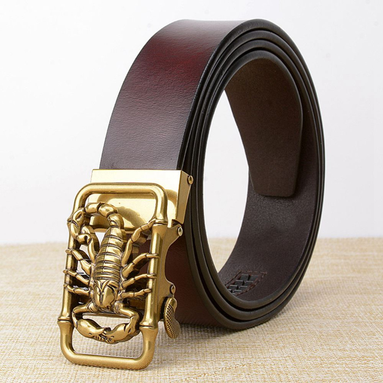 New Casual Men/'s Genuine Leather Whole Cowhide Waistband Waist Strap Jeans Belts