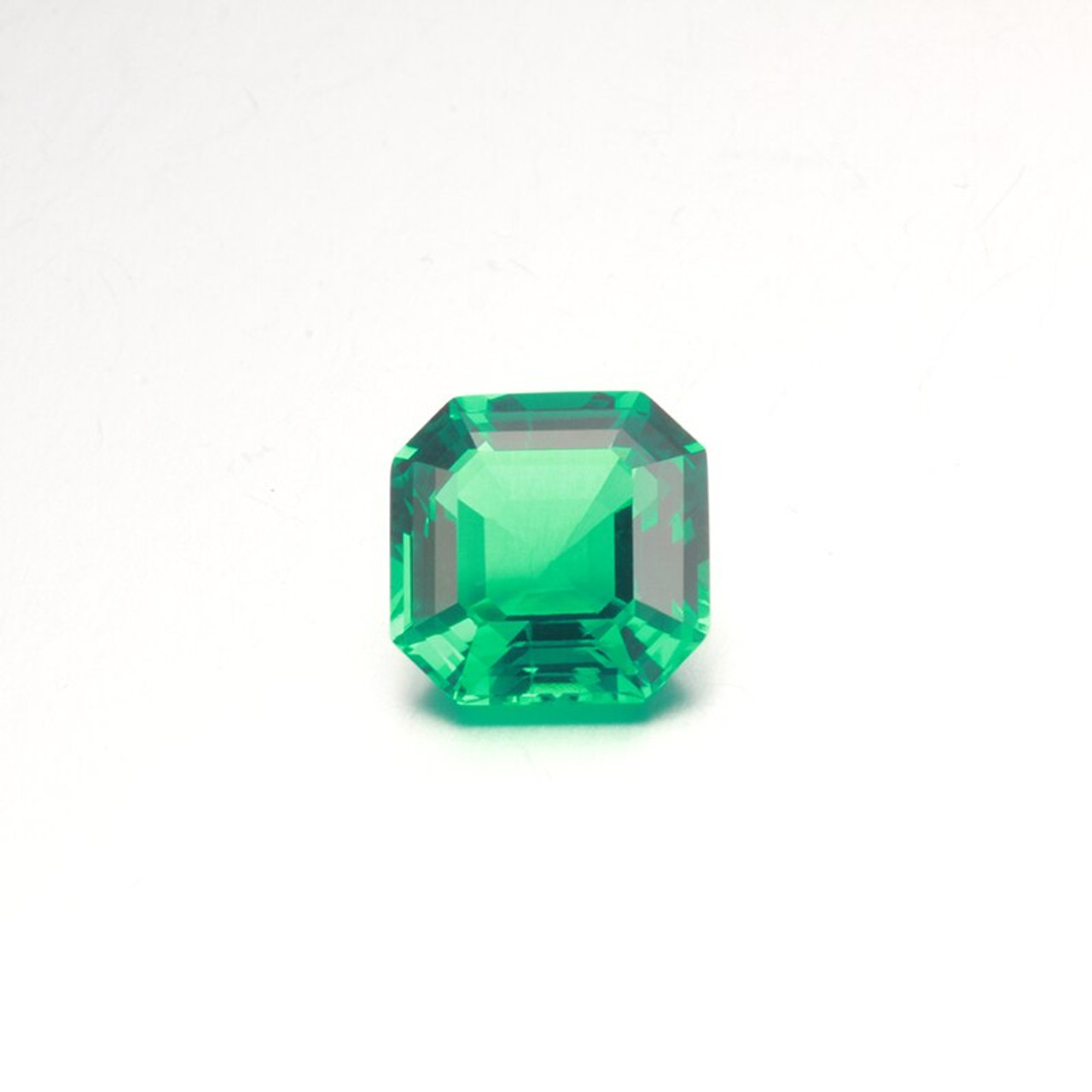Details about  /925 Sterling Silver Natural Octagon Cut 10ct Colombian Emerald Gemstone Ad Ring