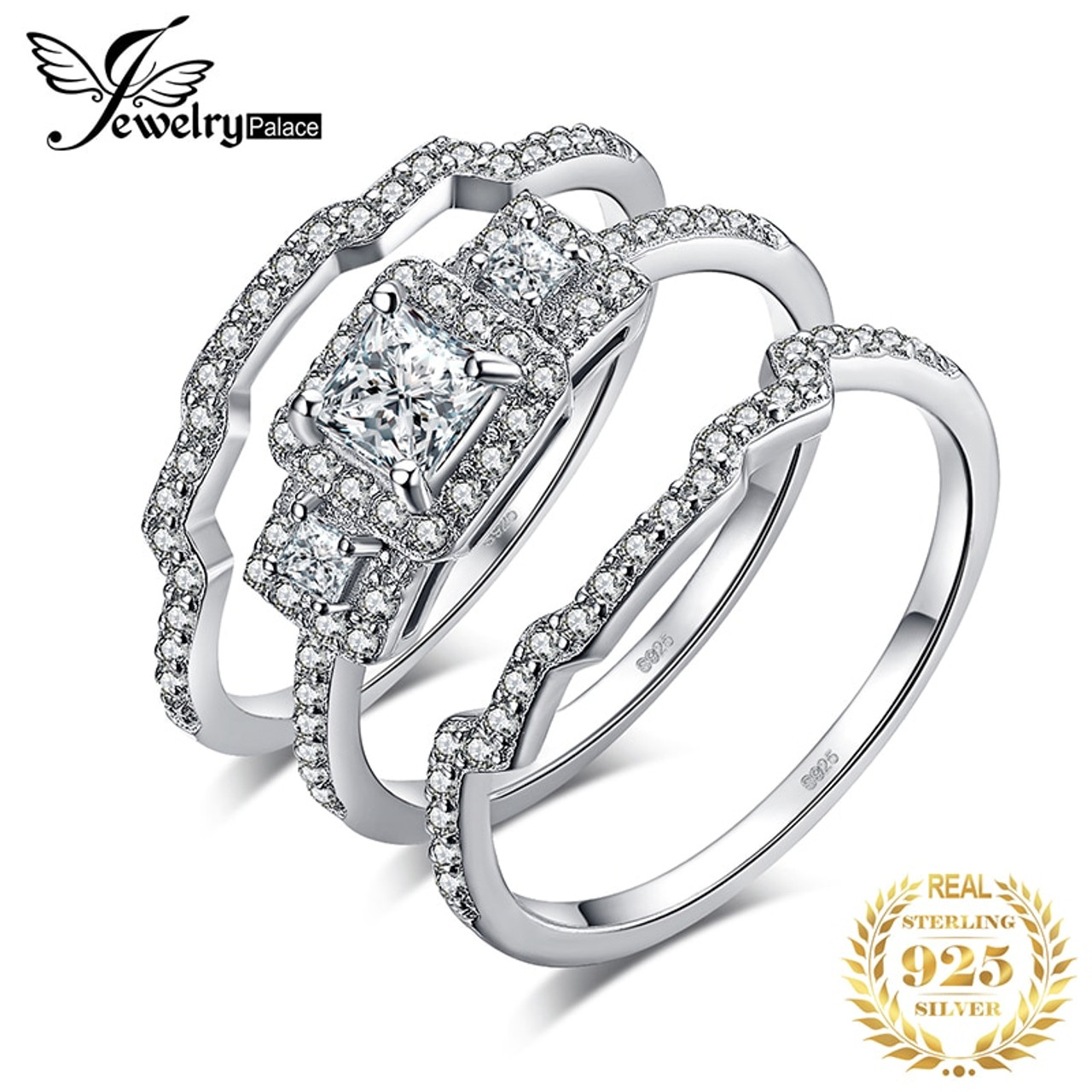 925 Sterling Silver Ladies Channel Set Eternity Wedding Engagement Band Ring