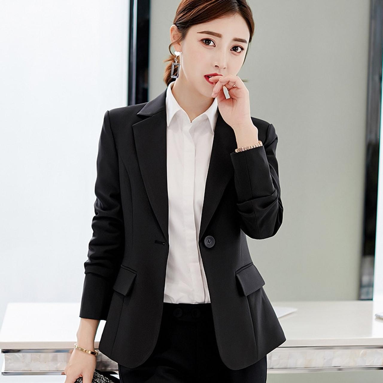 Autumn 2019 Women Korean Coats Long