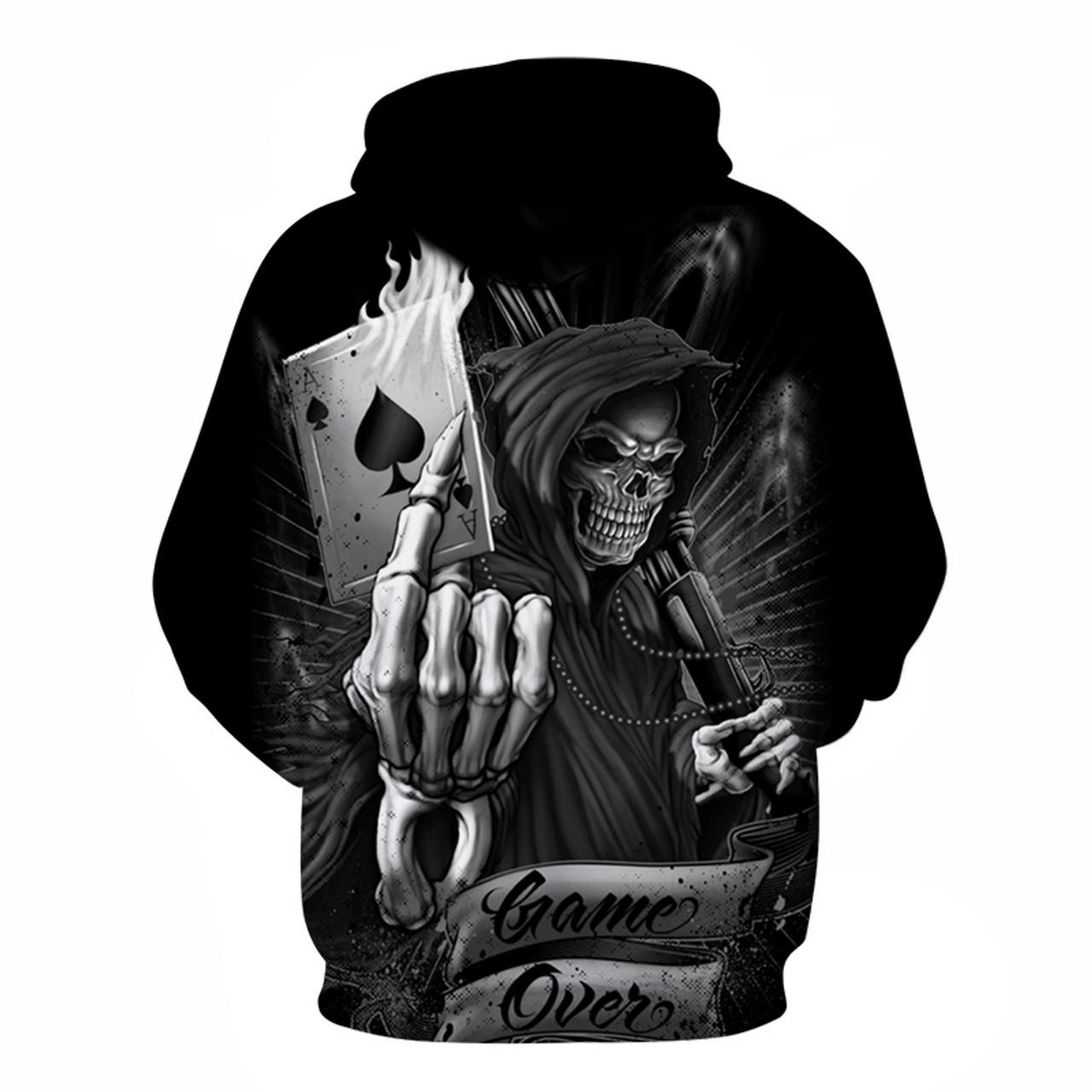 3D Sweatshirts Hoody Funny Hoodies Loose Tracksuit Autumn Hooded Coat