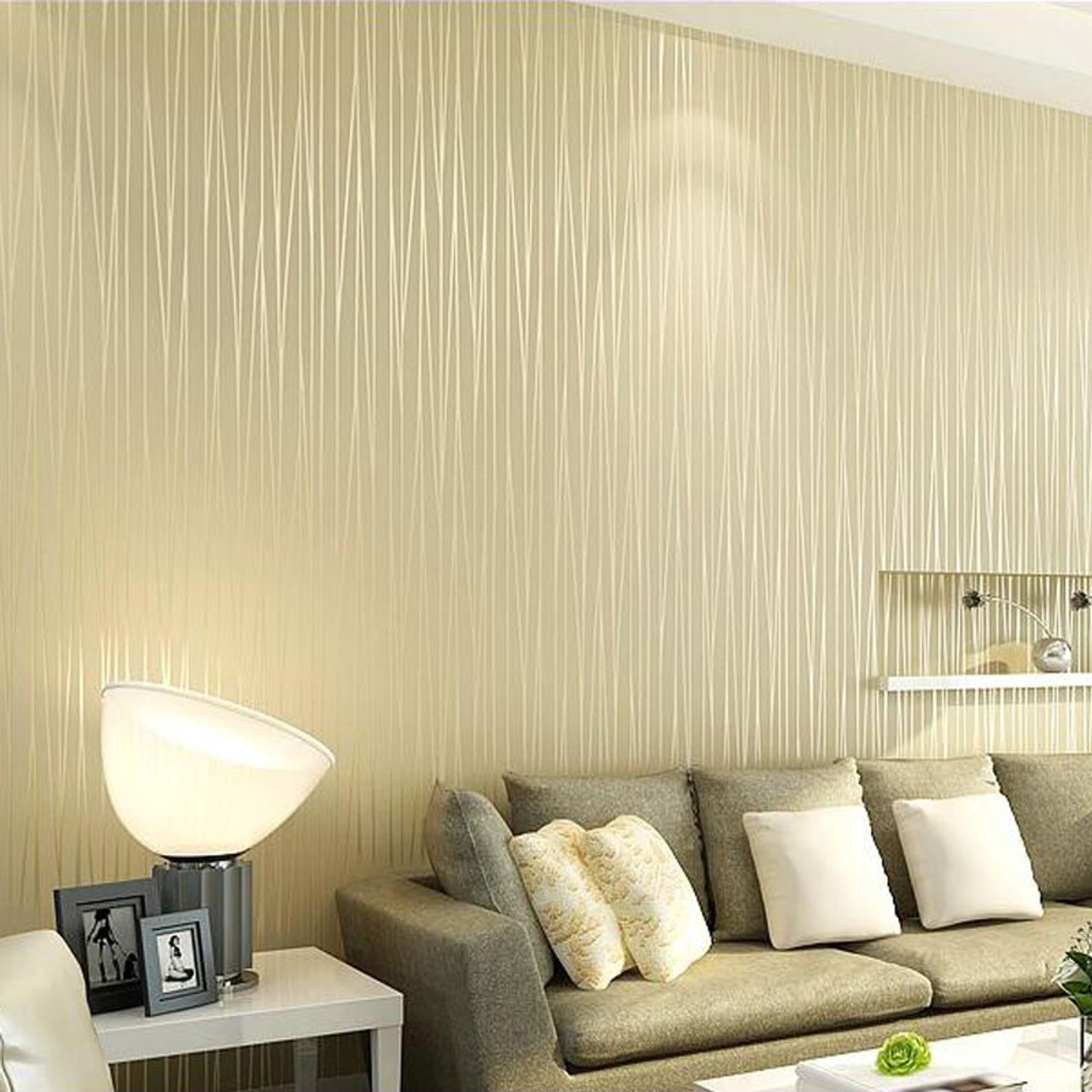 Non Woven Wallpaper Modern Solid Color Vertical Striped Wallpaper Roll Bedroom Living Room Tv Backdrop Wall Papers Home Decor Onshopdeals Com