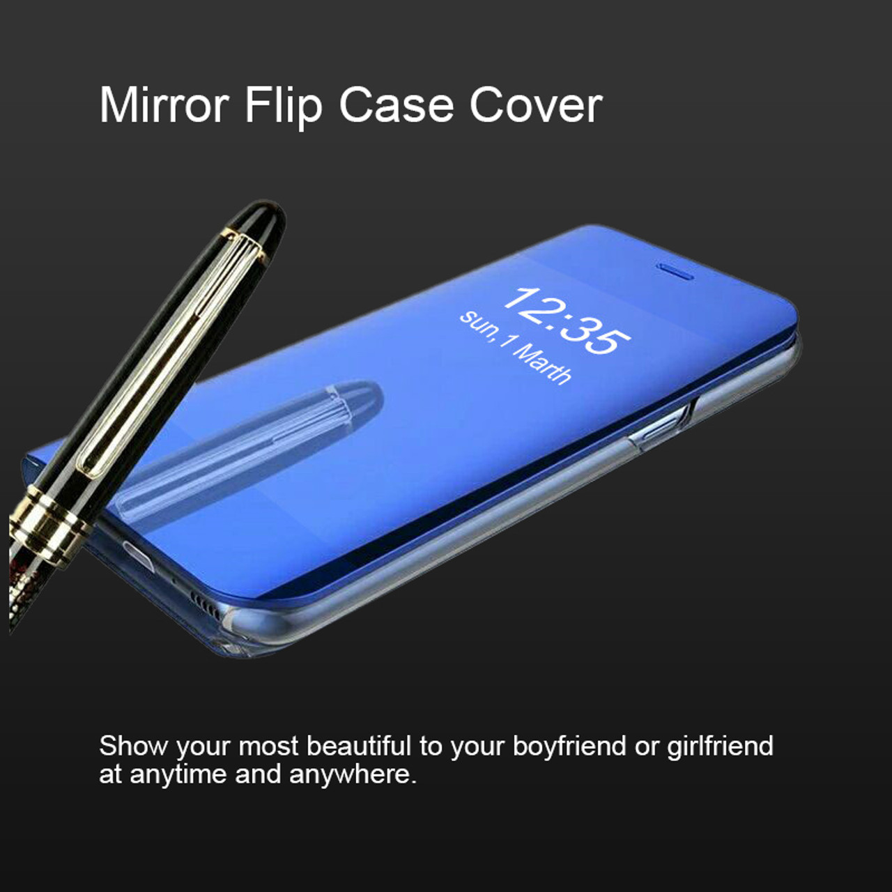 pretty nice f6d5c 583a2 YOJOCK S8+Mirror Smart View Flip Case For Samsung Galaxy S8 S7 S7 Edge  Luxury Stand Leather Cover For Samsung Note 8 Phone Cases