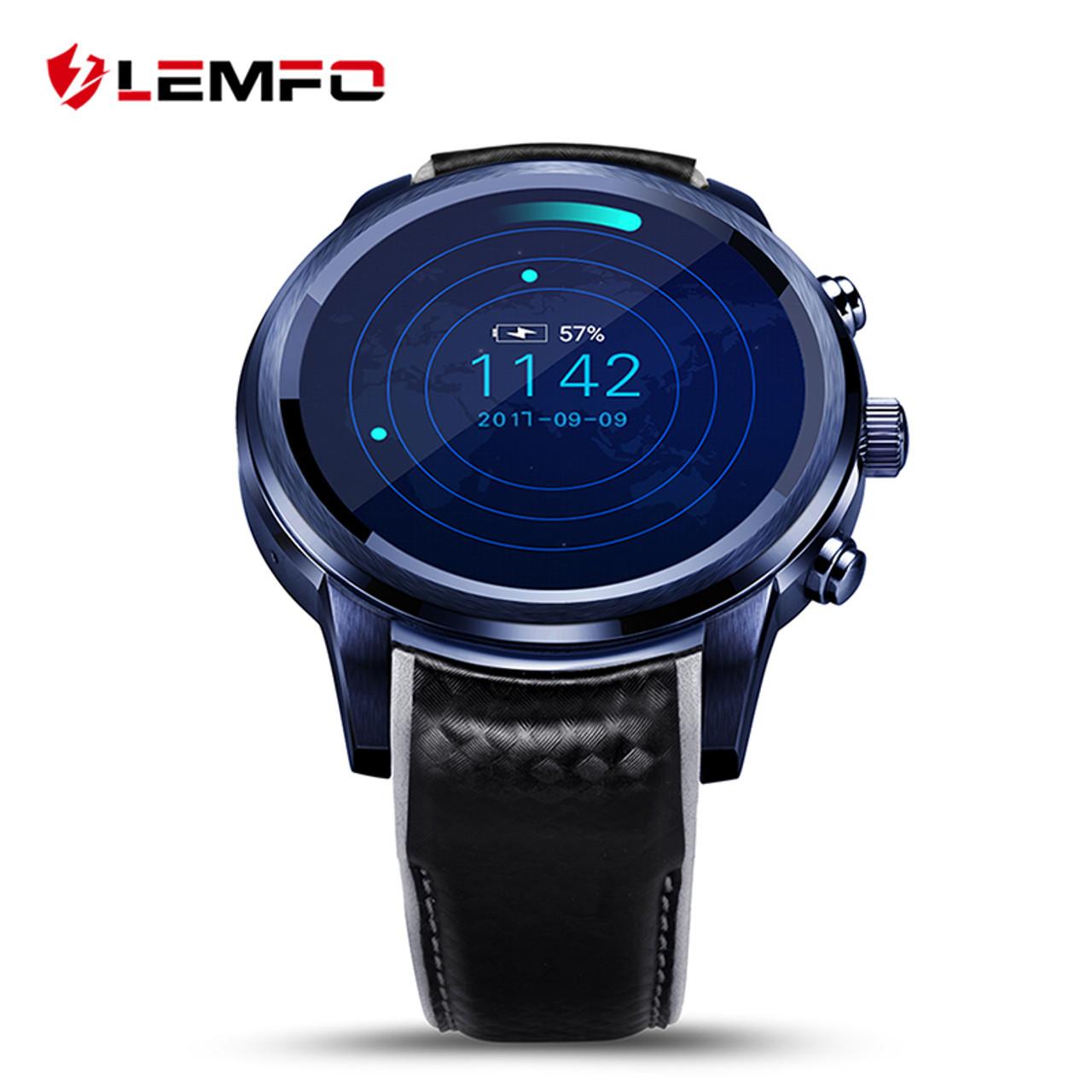 5fc47f6ff78 LEMFO LEM5 Pro Smart Watch Phone Android 5.1 2GB + 16GB Support SIM card  GPS WiFi ...