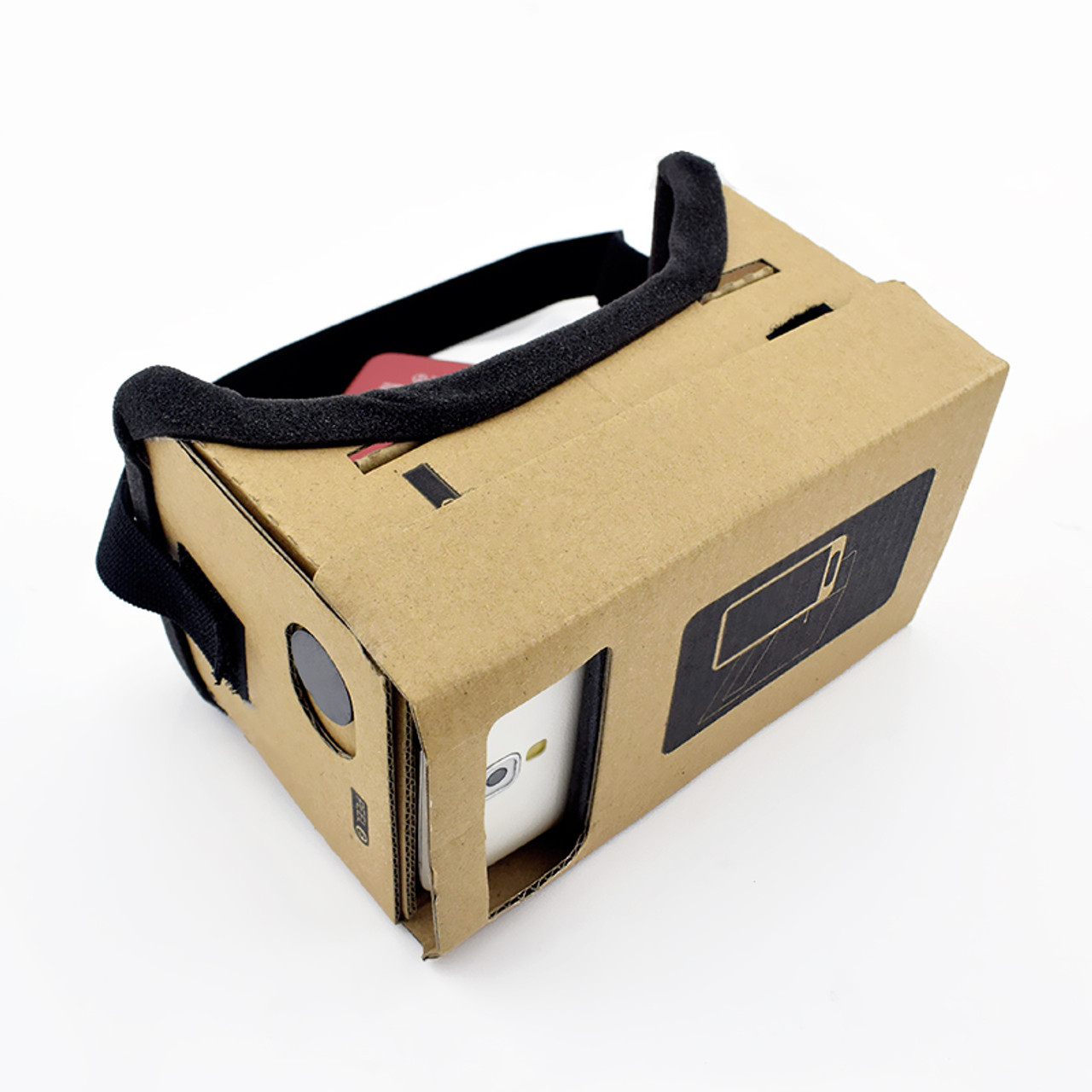 e10b4c0612ef ... Virtual Reality Glasses Google Cardboard Glasses 3D Glasses VR Box  Movies for iPhone 5 6 7 ...