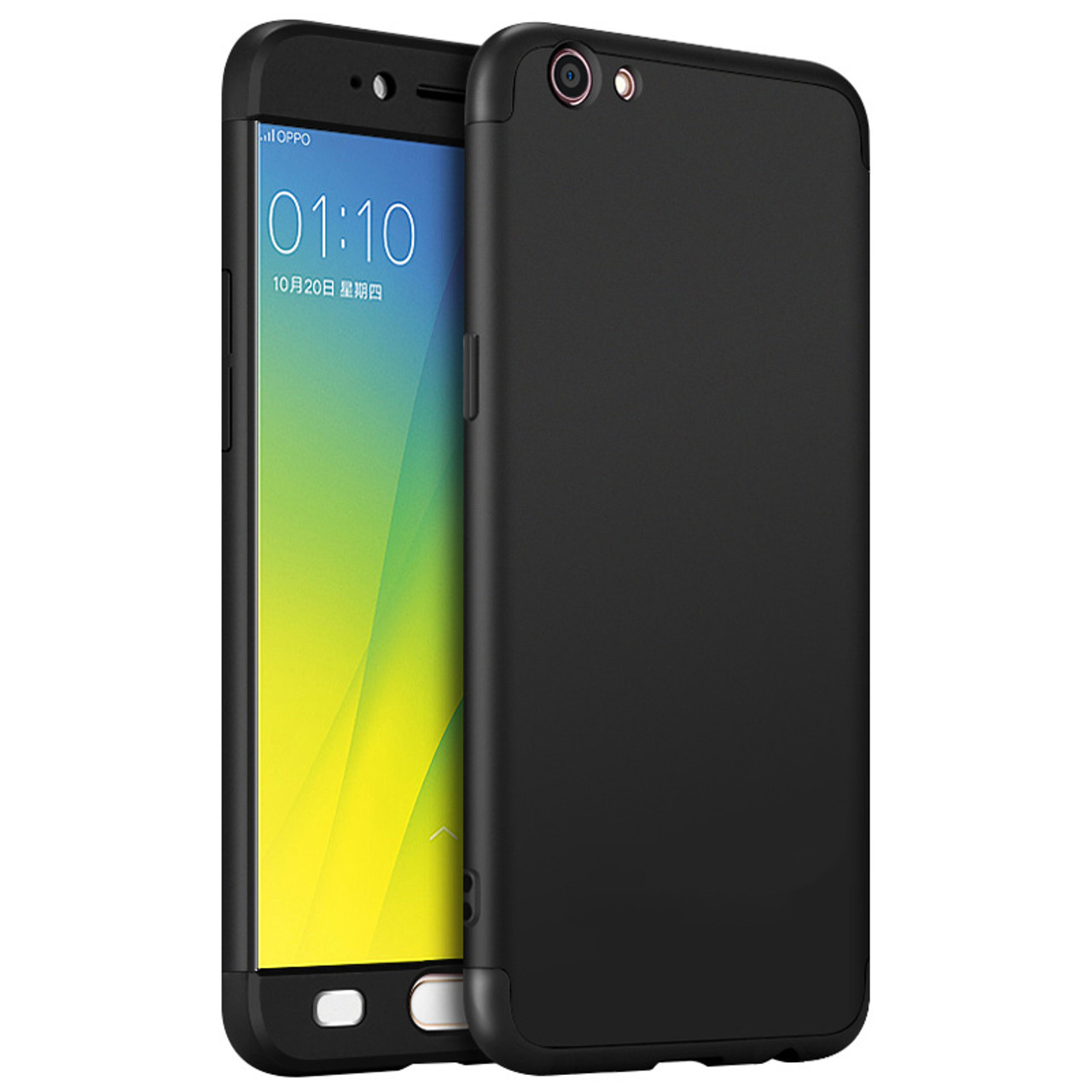 finest selection 7f068 70bb0 daTTap For Oppo F1s Cases and Covers 360 Full Body Hard Plastic Matte  Protection Case For Oppo F1s A59 A1601 Back Cover Fundas