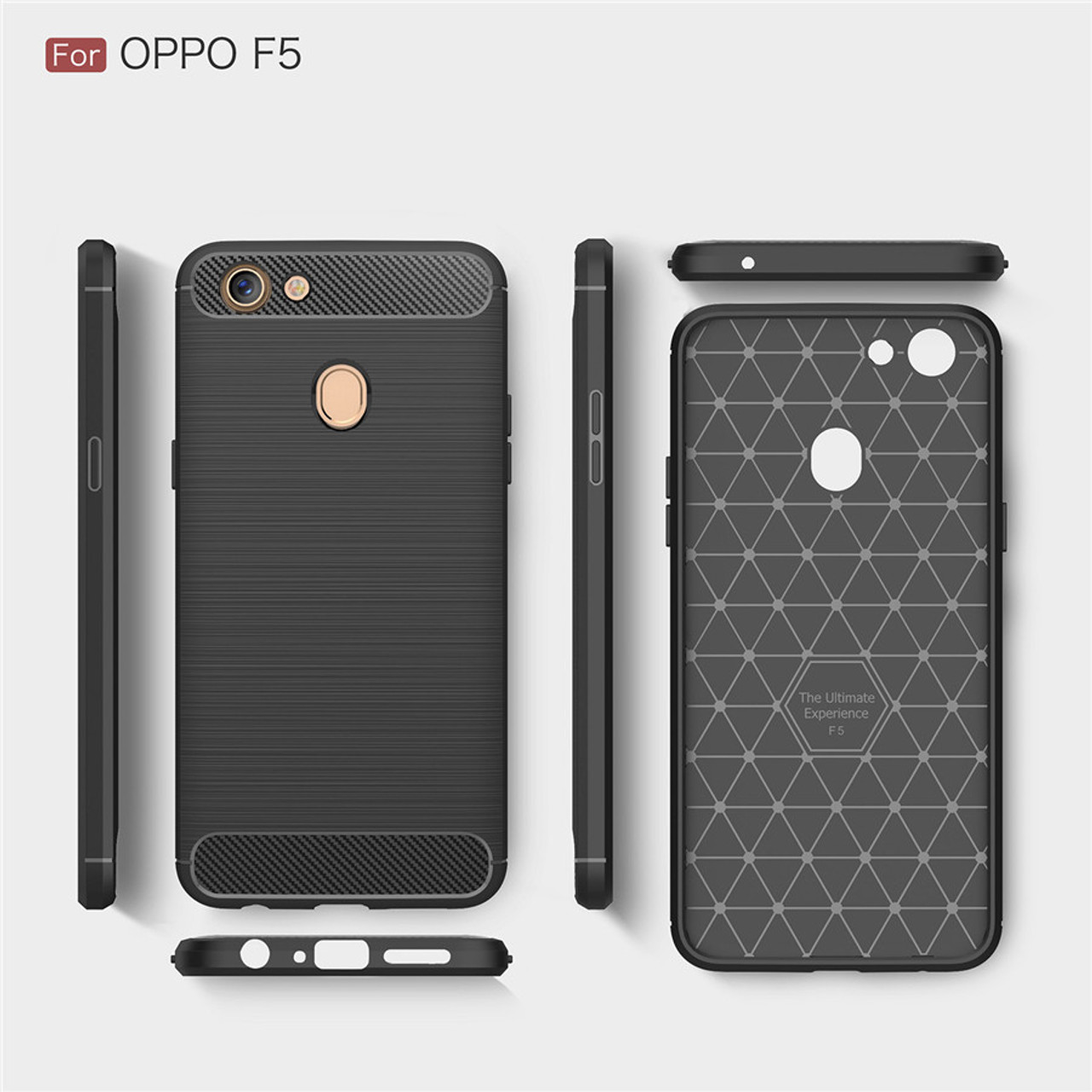 best sneakers d0b38 cd690 For OPPO F5 Case For OPPO F5 Cover Luxury Carbon Fiber Back Cover for OPPO  F5 Phone Cases for OPPO F5 Phone Back Shell