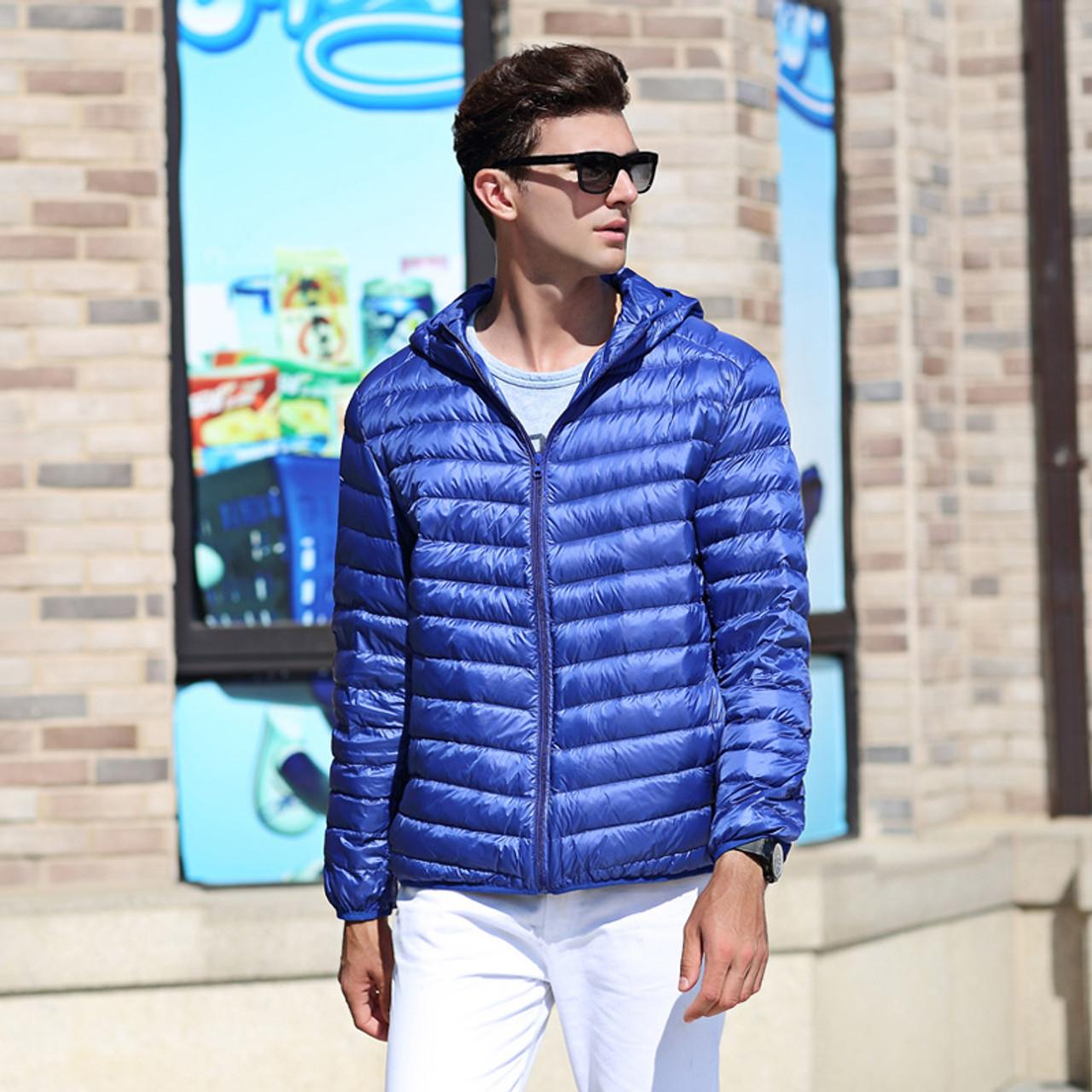 ec9b2bc42d5f ... AIRGRACIAS 2017 New Arrive White Duck Down Jacket Men Autumn Winter  Warm Coat Men s Light Thin ...