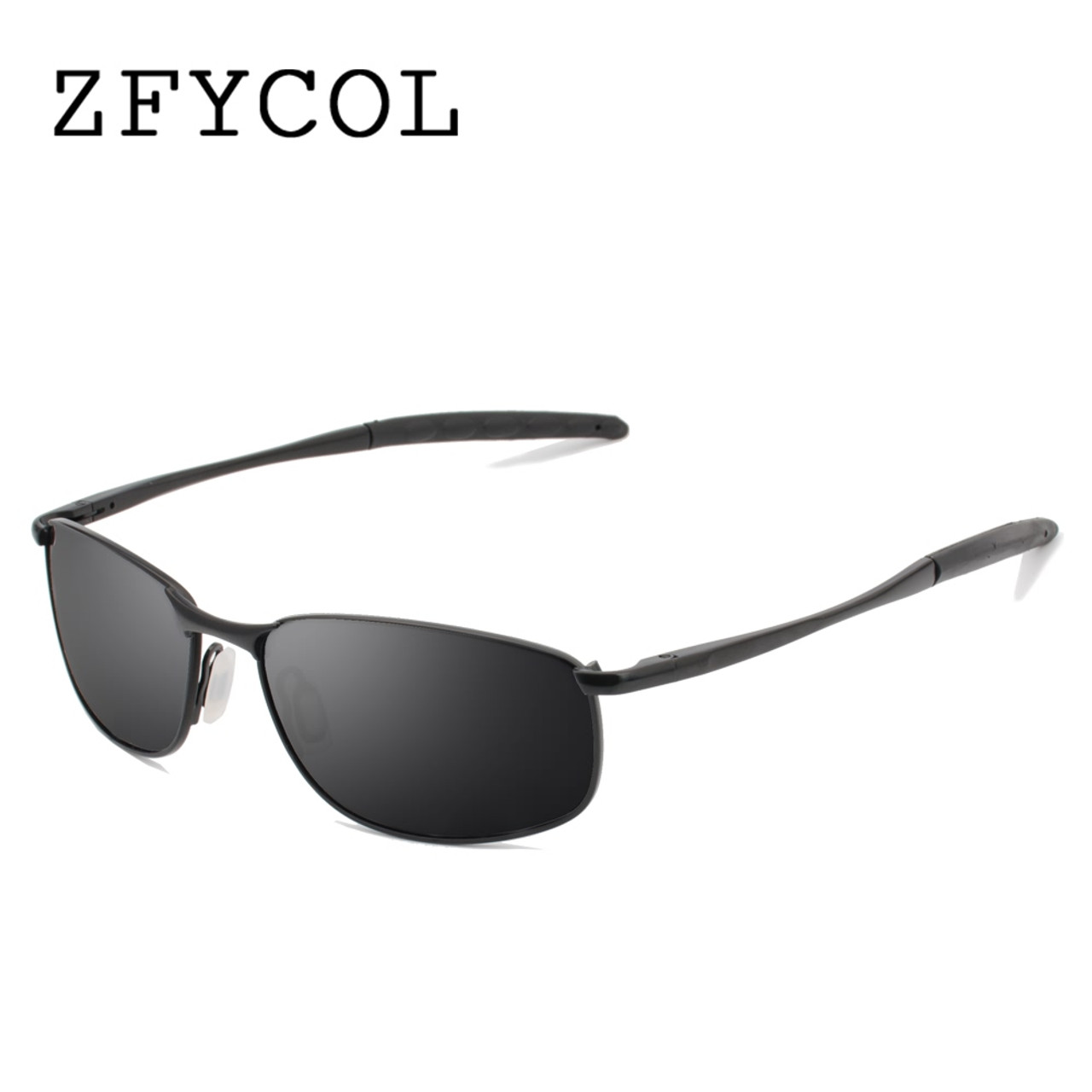 577100f8f6e ZFYCOL 2017 Sunglasses Men Polarized Famous Brand Designer Driving Sun  glasses Male Mirror Lens Gafas Oculos ...